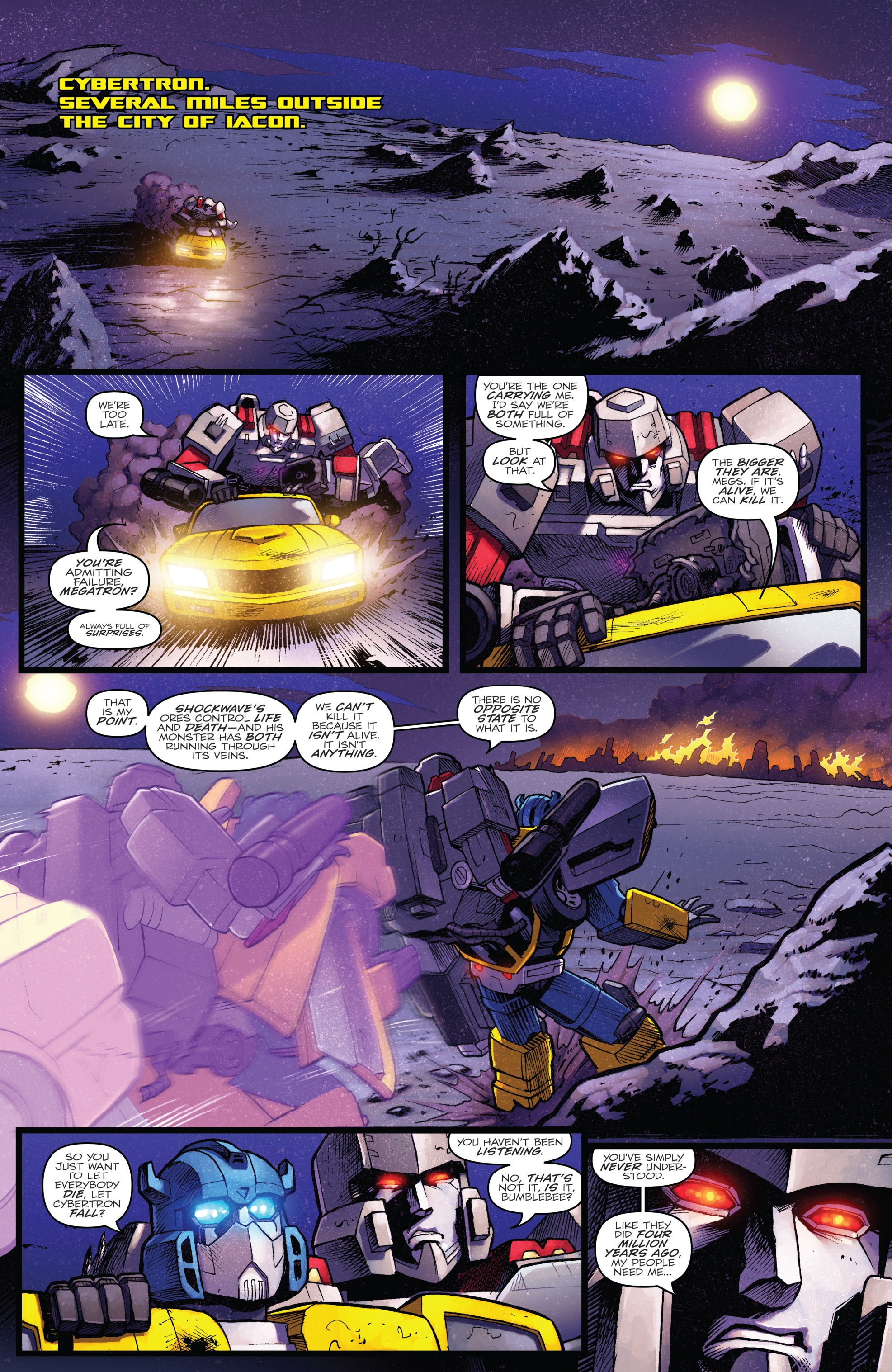 Read online The Transformers: Dark Cybertron Finale comic -  Issue # Full - 30