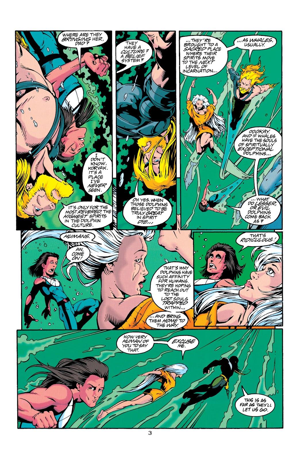 Aquaman (1994) Issue #27 #33 - English 4