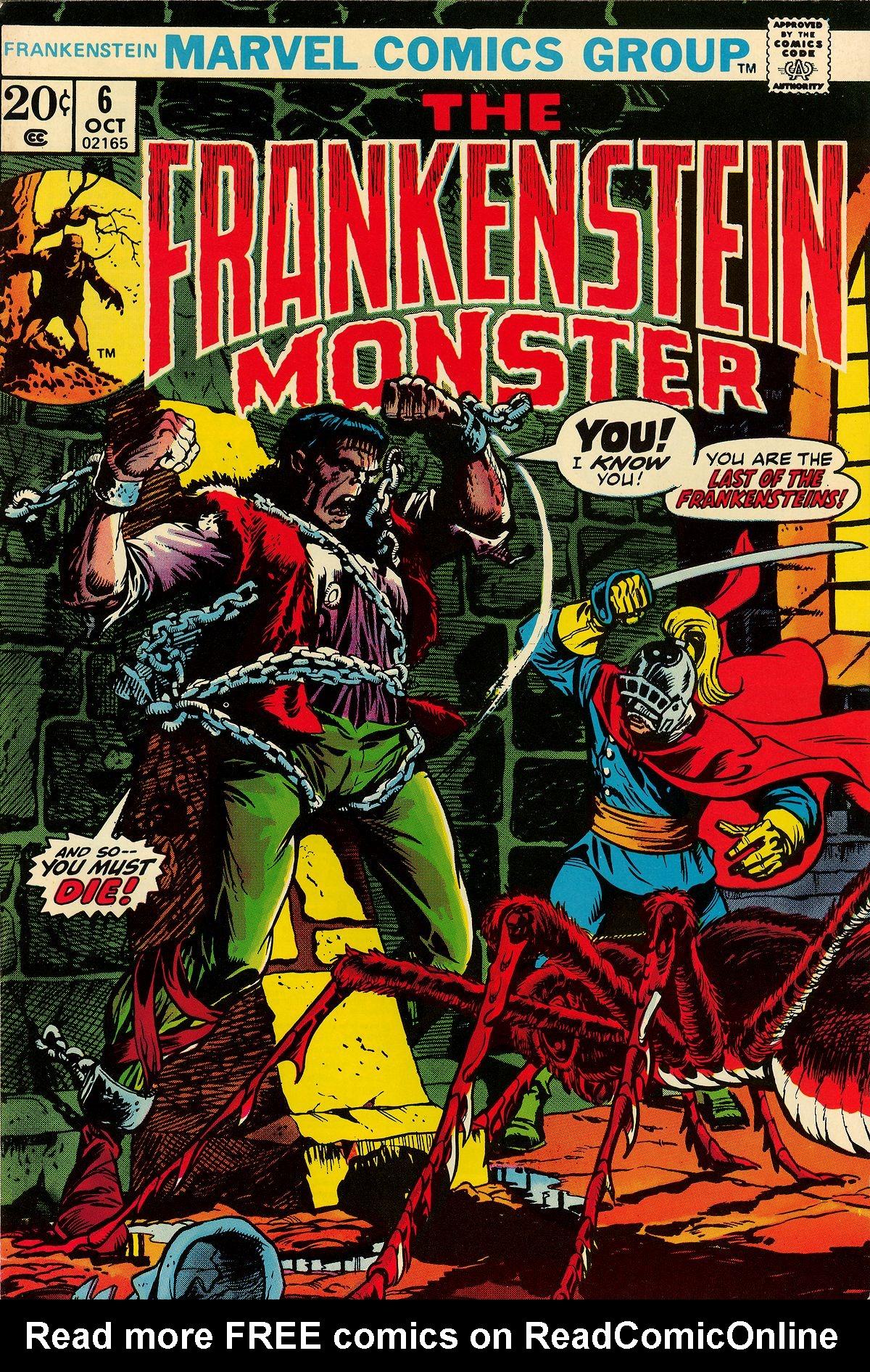 Frankenstein (1973) 6 Page 1