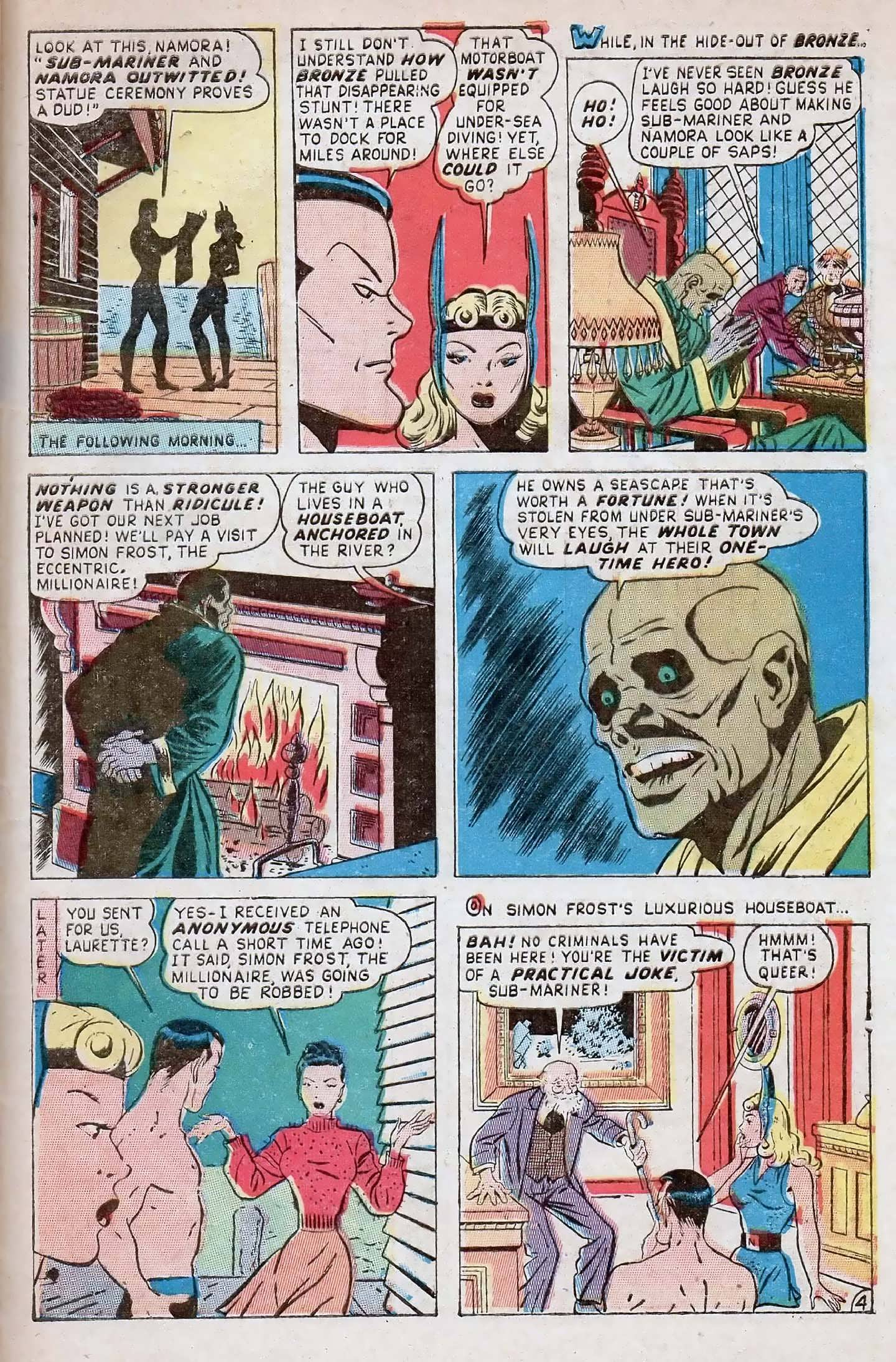 Sub-Mariner Comics #27 #27 - English 29