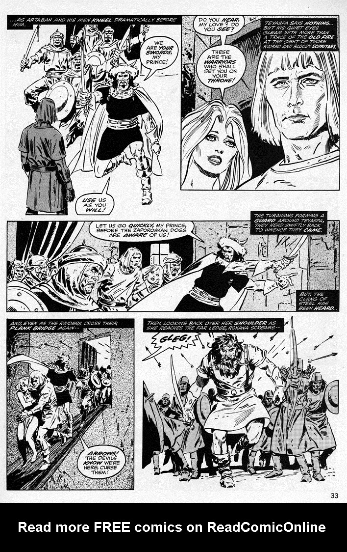 The Savage Sword Of Conan Issue #38 #39 - English 33