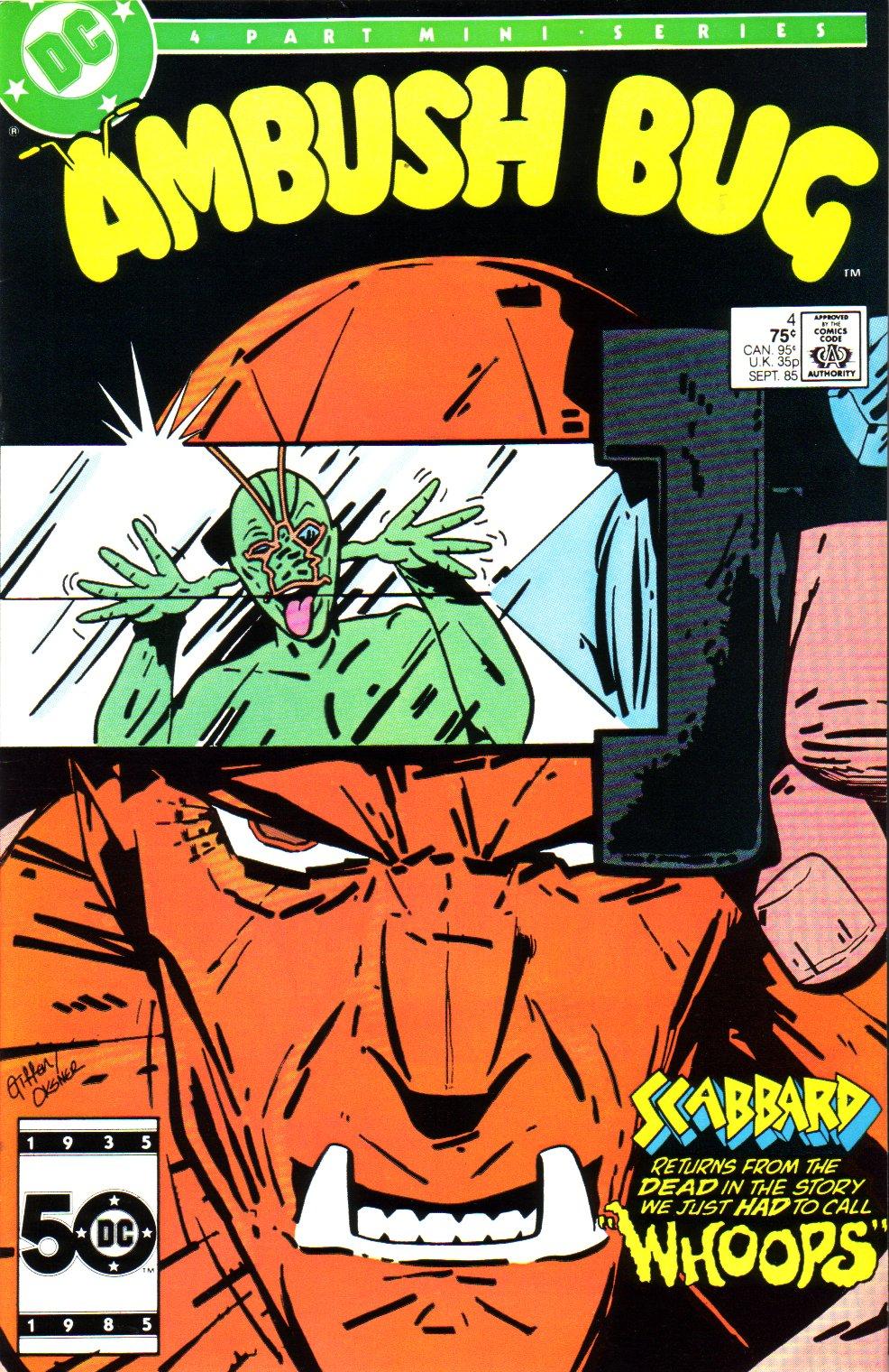 Ambush Bug 4 Page 1