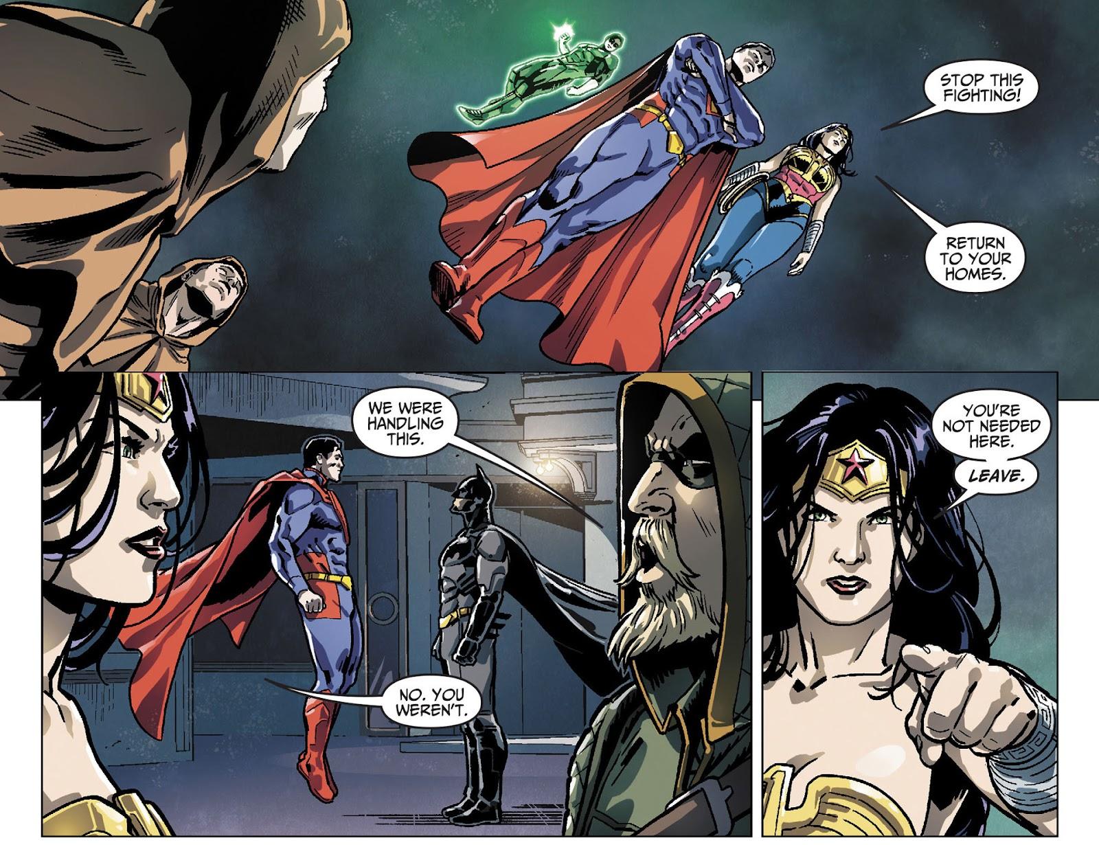Injustice: Gods Among Us [I] Issue #25 #26 - English 21