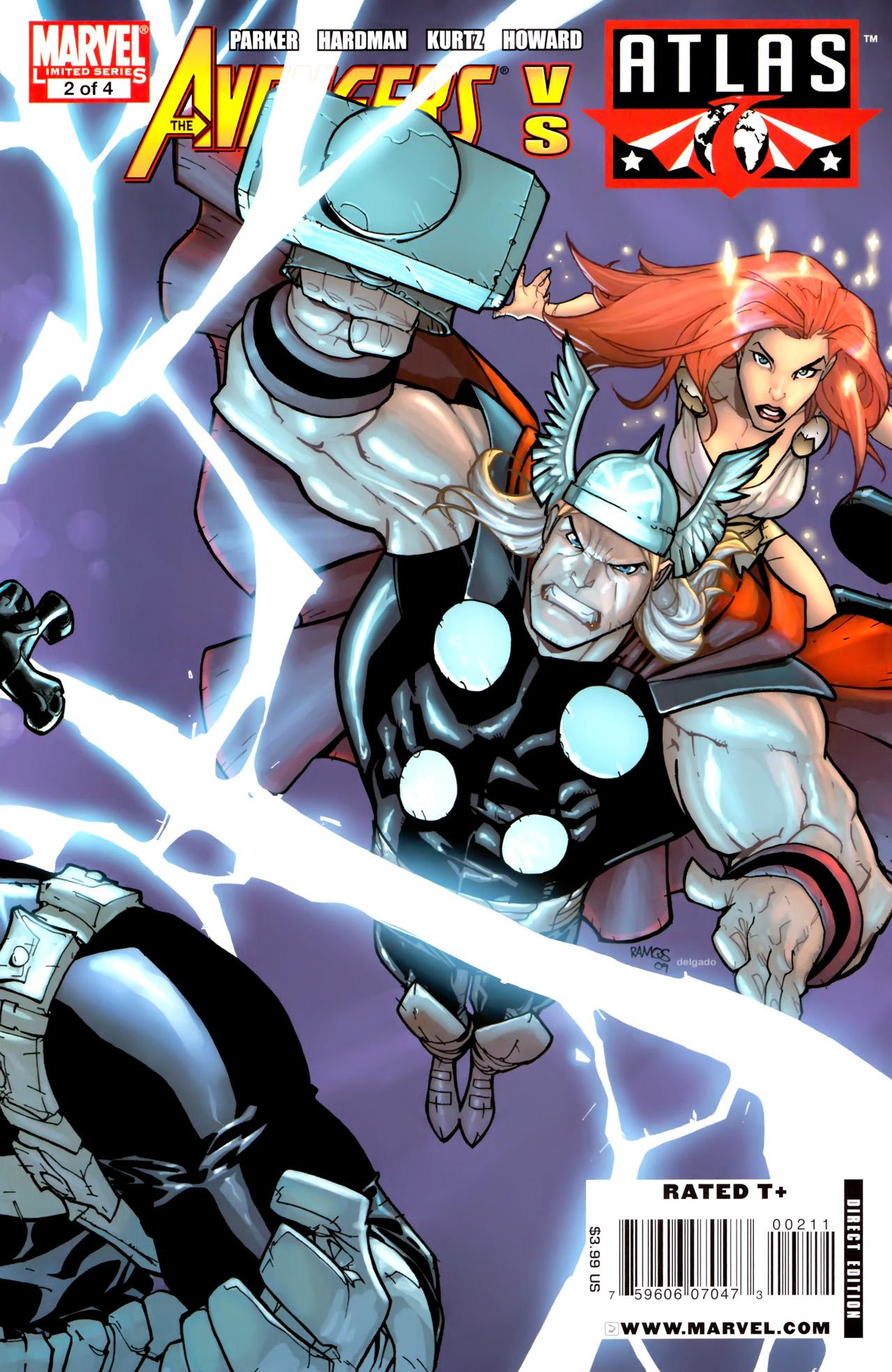 Avengers vs. Atlas 2 Page 1