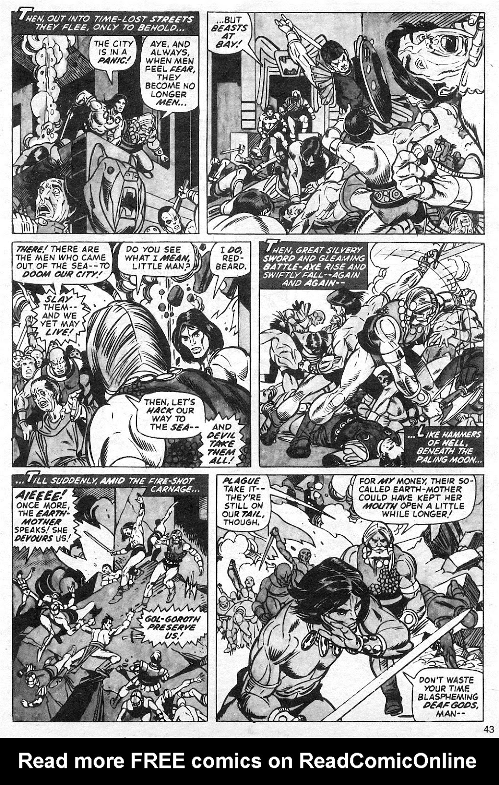 The Savage Sword Of Conan Issue #13 #14 - English 43