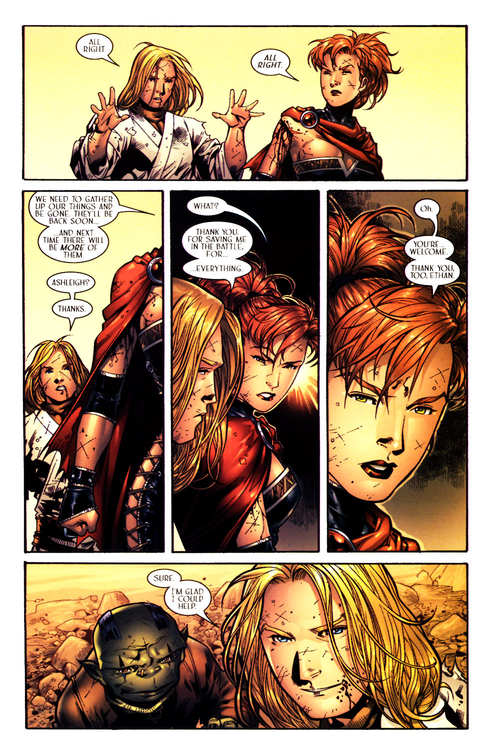 Read online Scion comic -  Issue #15 - 20