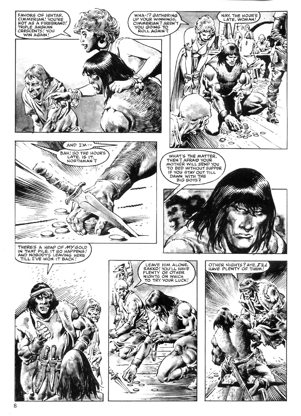 The Savage Sword Of Conan Issue #98 #99 - English 8