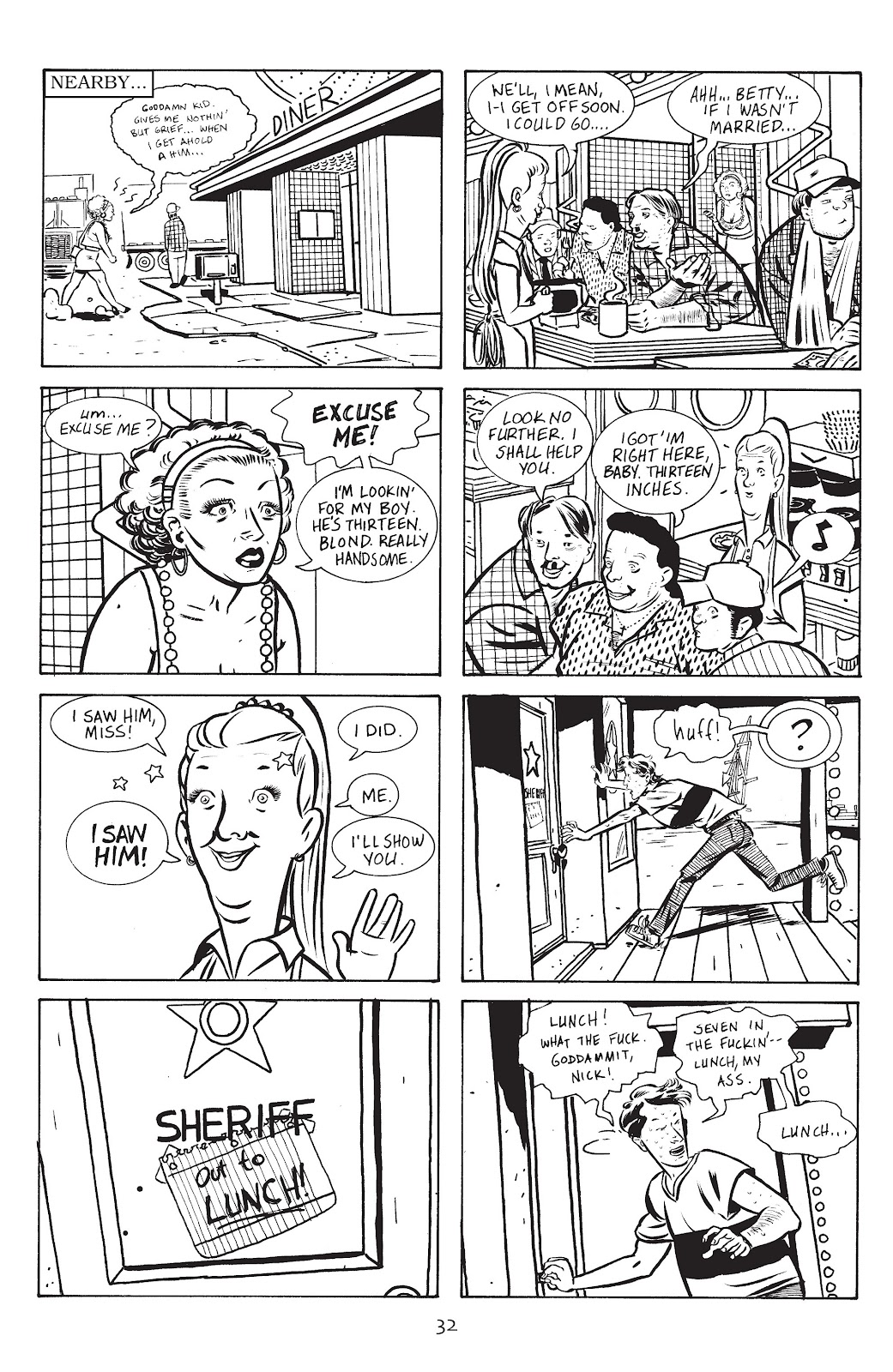 Stray Bullets Issue #14 #14 - English 34