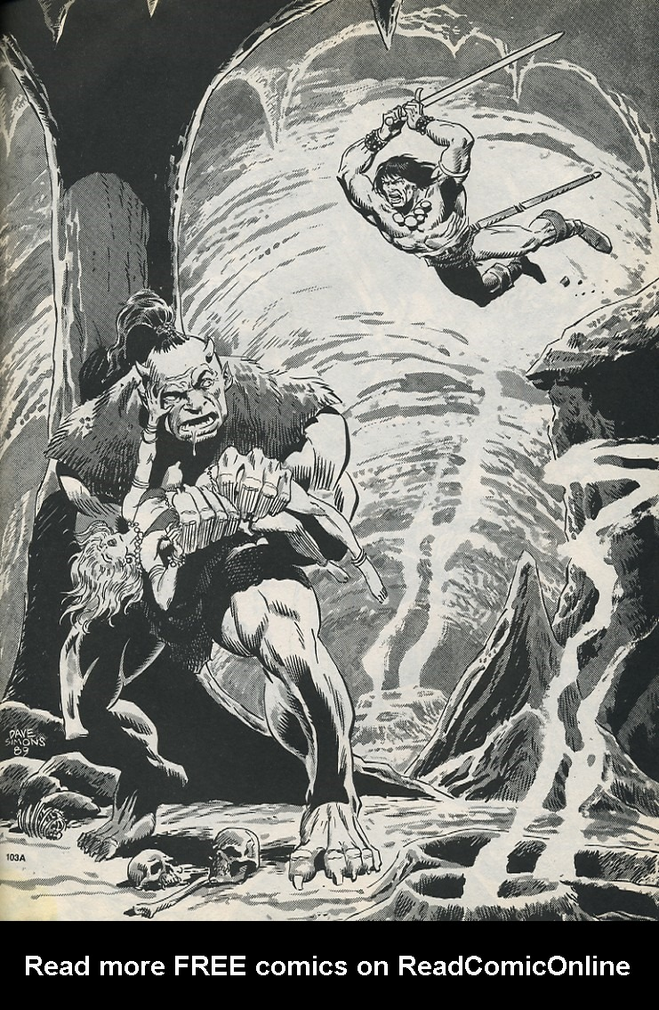 The Savage Sword Of Conan Issue #194 #195 - English 61