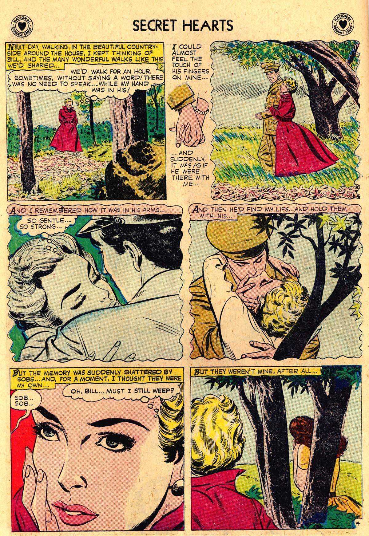 Read online Secret Hearts comic -  Issue #57 - 6