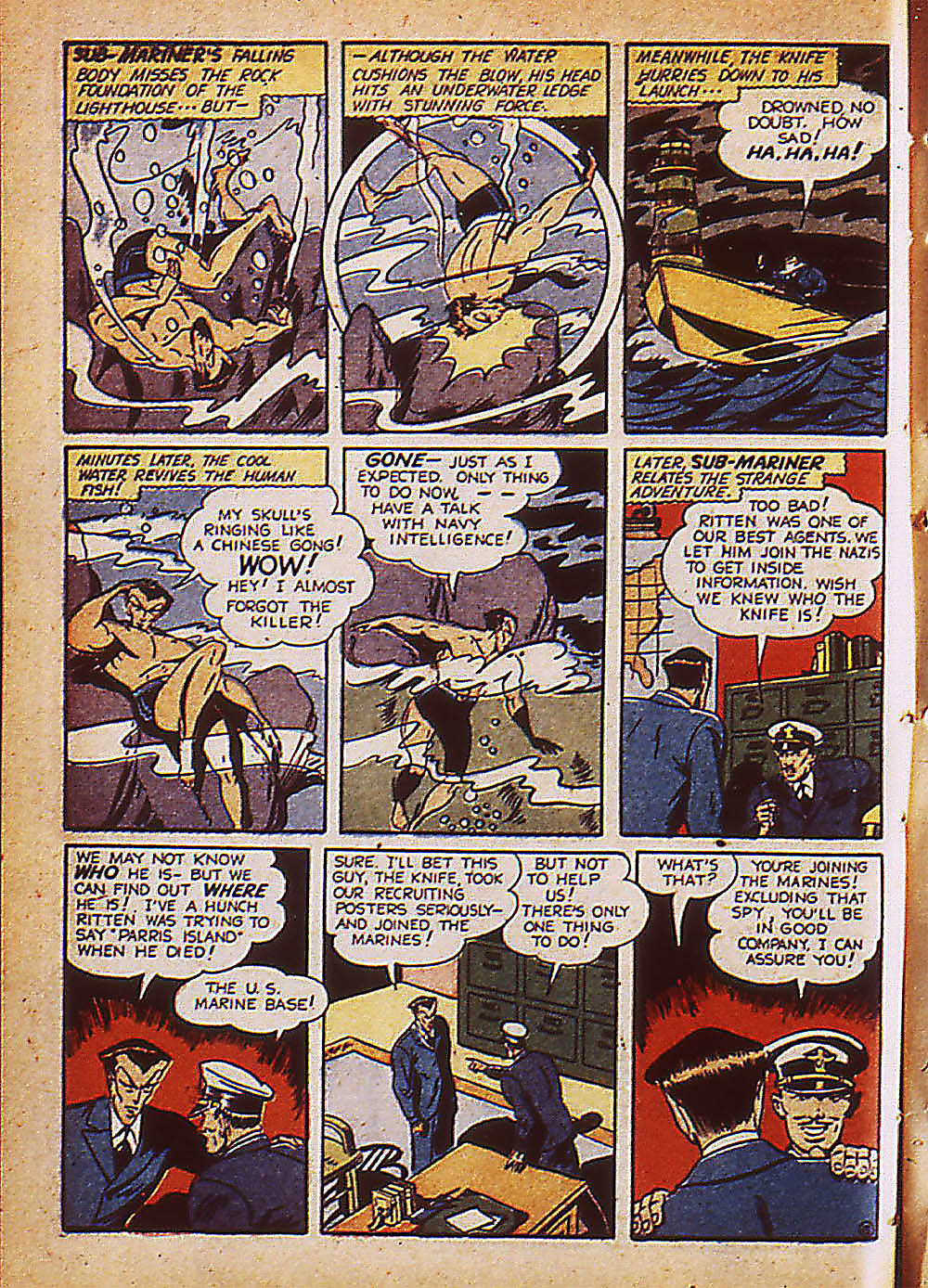 Sub-Mariner Comics Issue #8 #8 - English 9