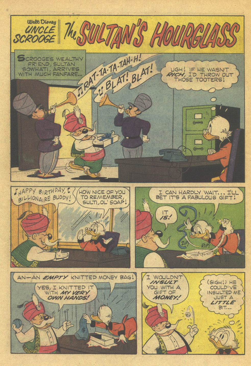 Uncle Scrooge (1953) Issue #79 #79 - English 22