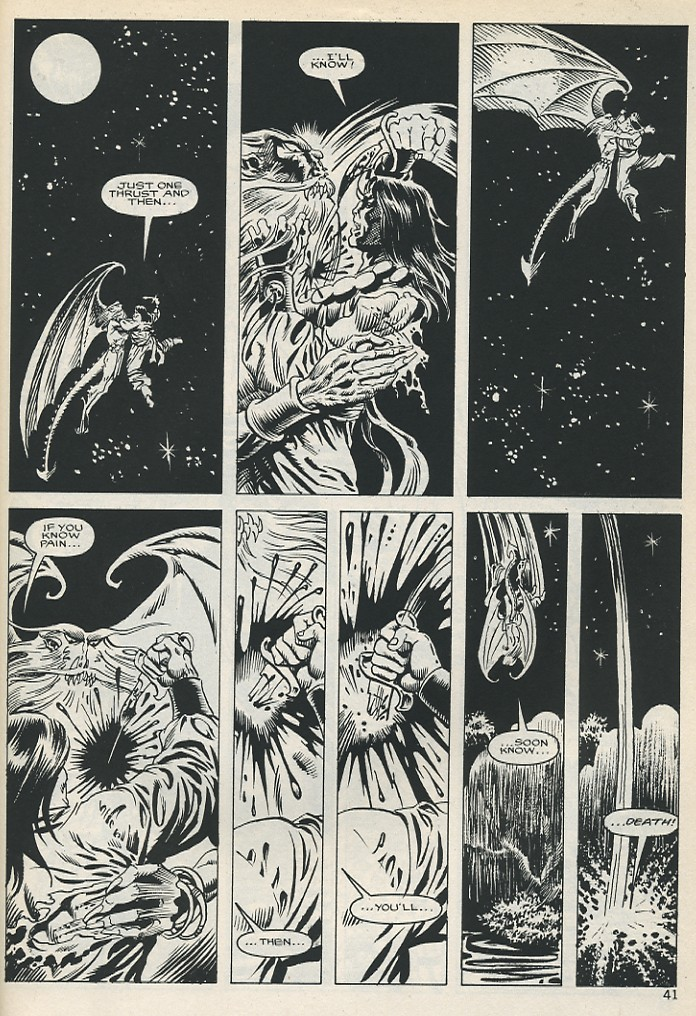 The Savage Sword Of Conan Issue #131 #132 - English 41