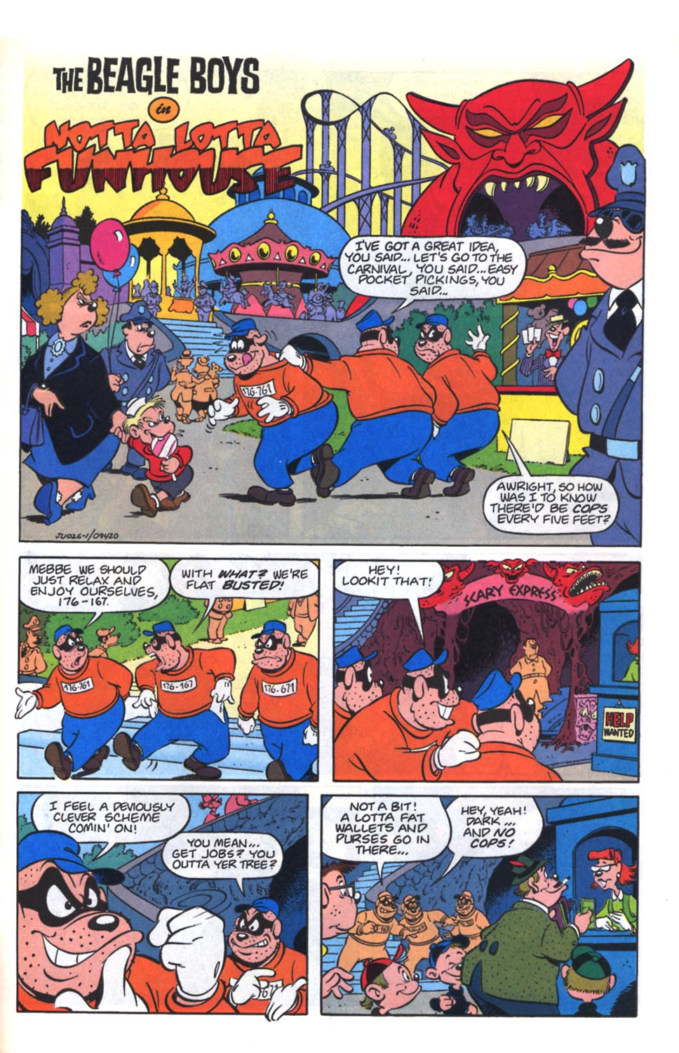 Uncle Scrooge (1953) Issue #261 #261 - English 29
