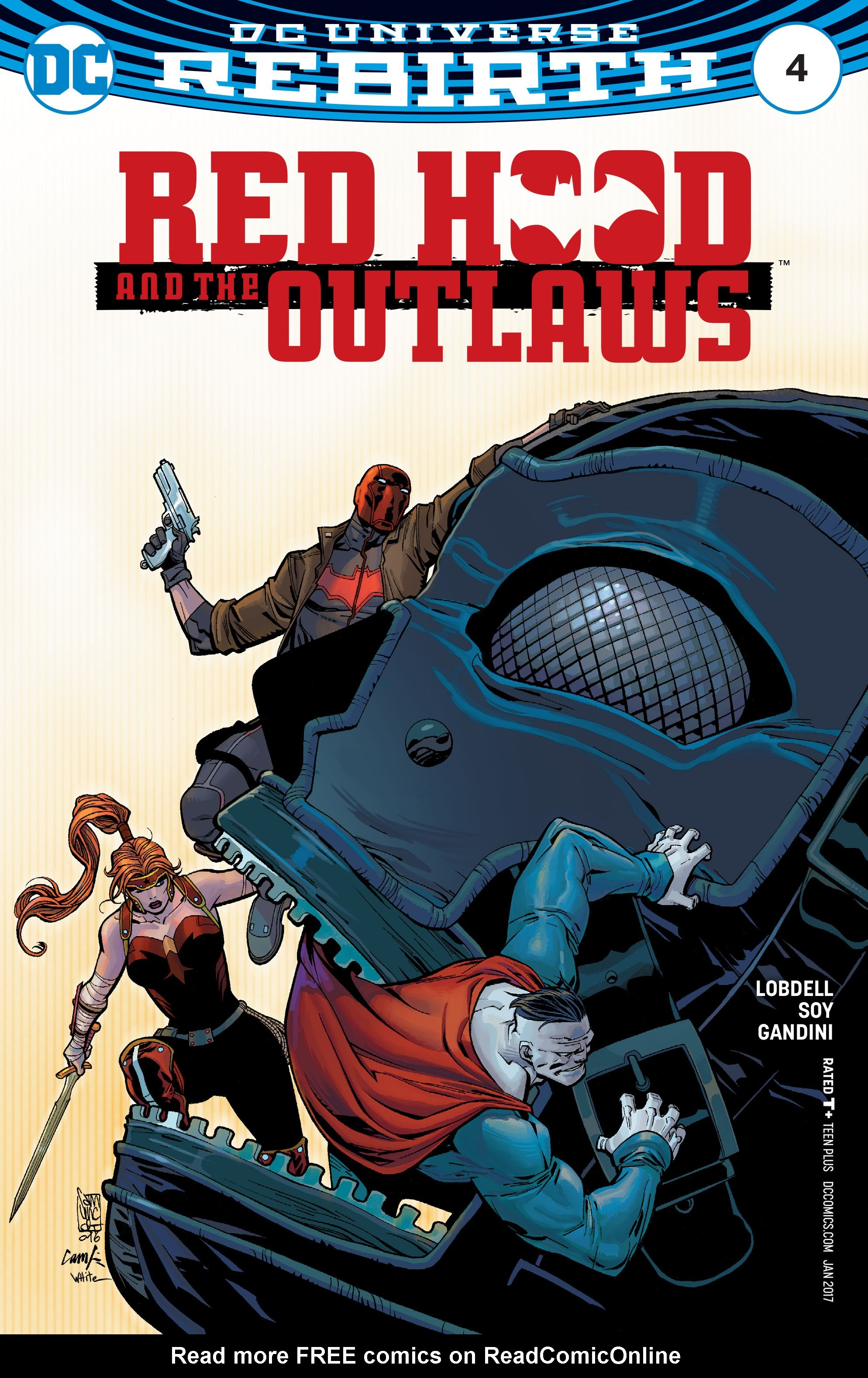 Red Hood and the Outlaws (2016) issue 4 - Page 1
