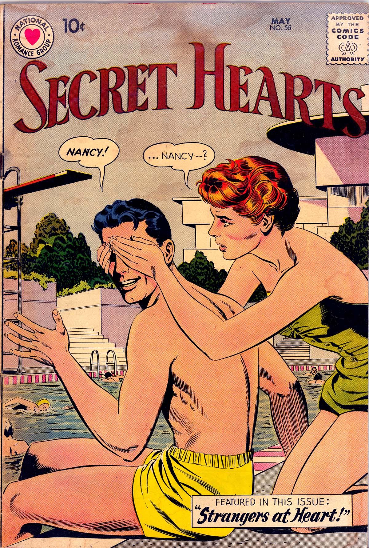 Read online Secret Hearts comic -  Issue #55 - 1