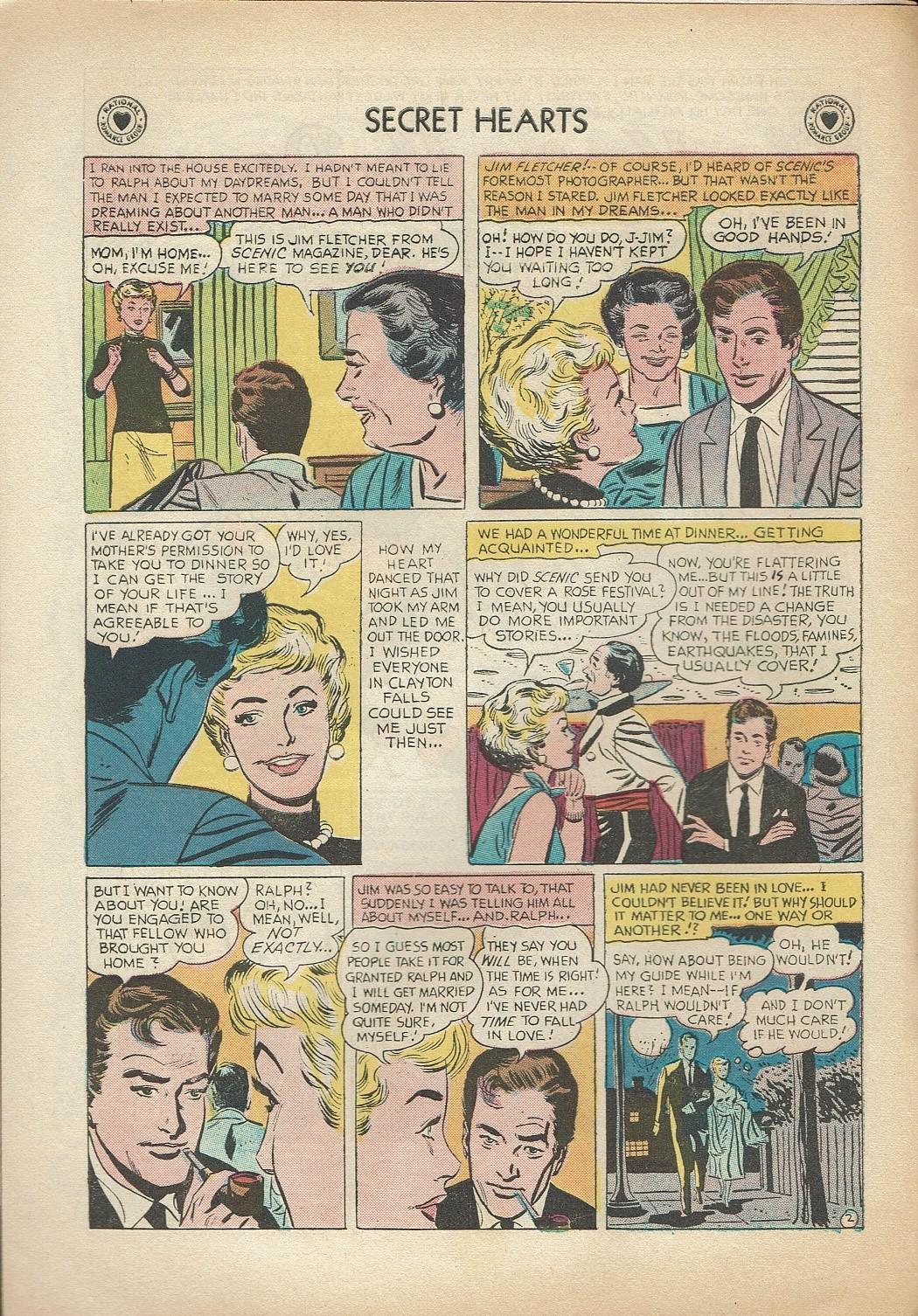 Read online Secret Hearts comic -  Issue #47 - 4