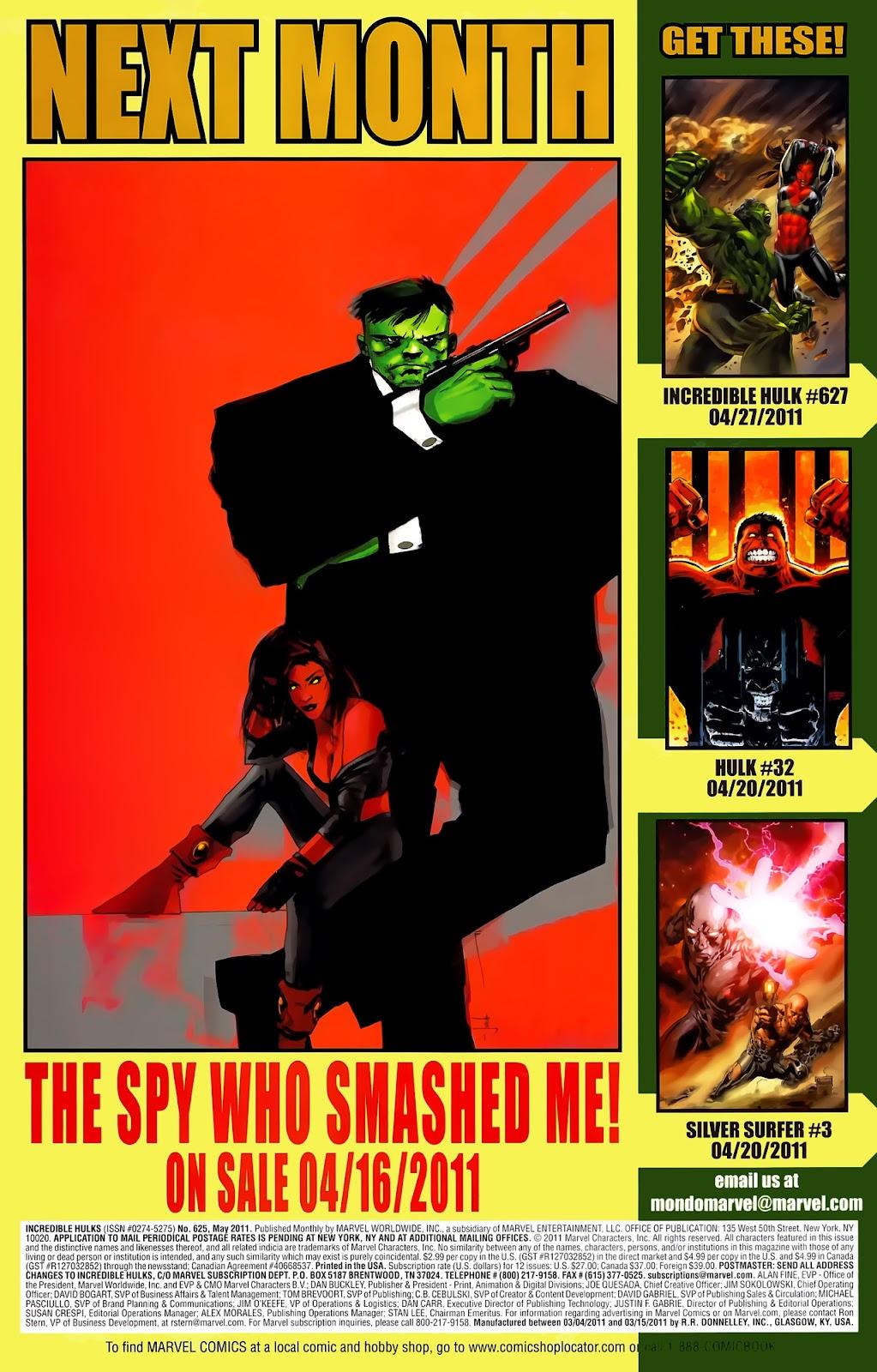 Incredible Hulks (2010) Issue #625 #15 - English 25