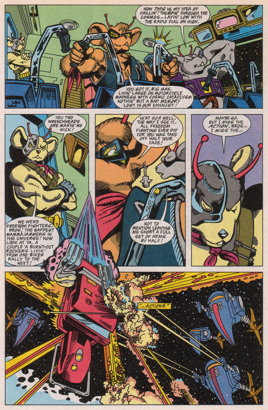 Biker Mice from Mars 1 Page 2