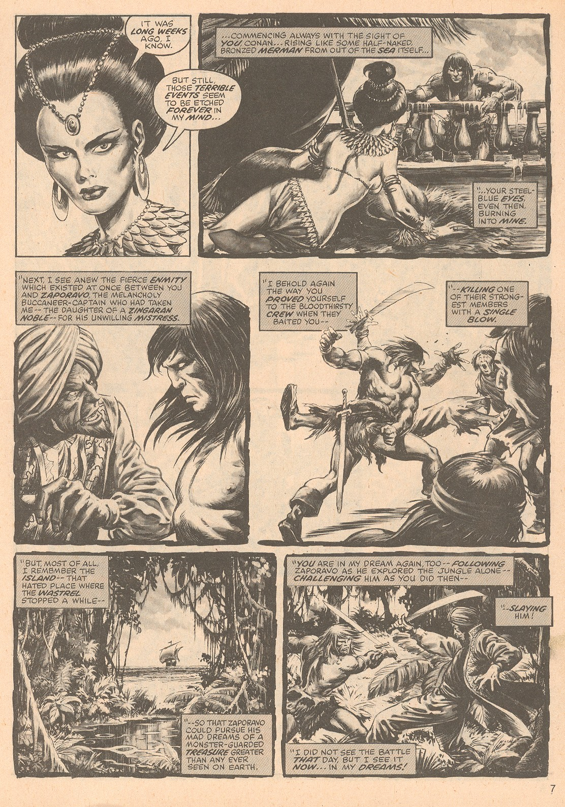 The Savage Sword Of Conan Issue #67 #68 - English 7