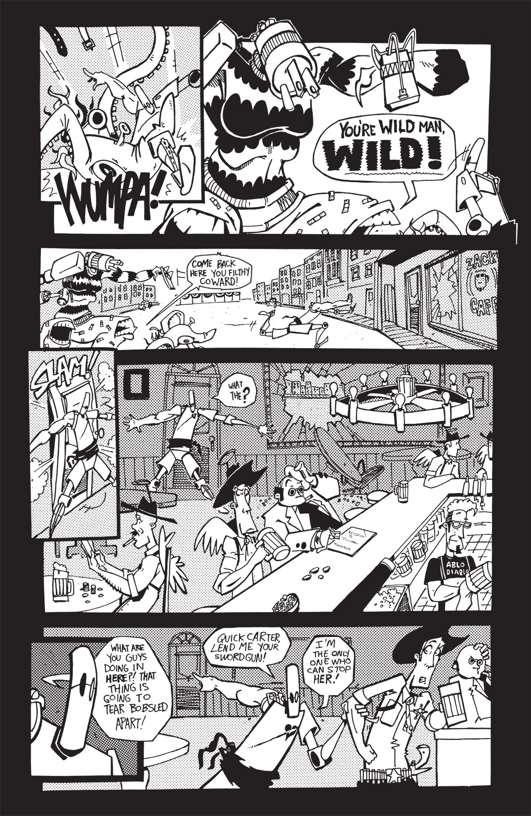 Read online Scud: The Disposable Assassin: The Whole Shebang comic -  Issue # TPB (Part 1) - 242