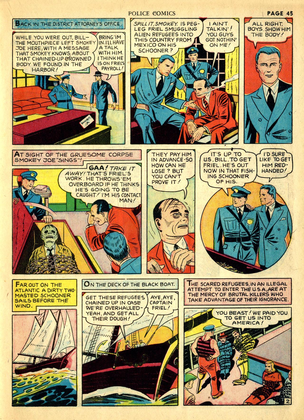 Police Comics #1 #127 - English 48