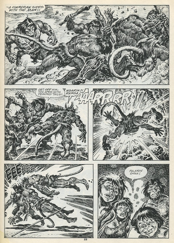 The Savage Sword Of Conan Issue #193 #194 - English 25