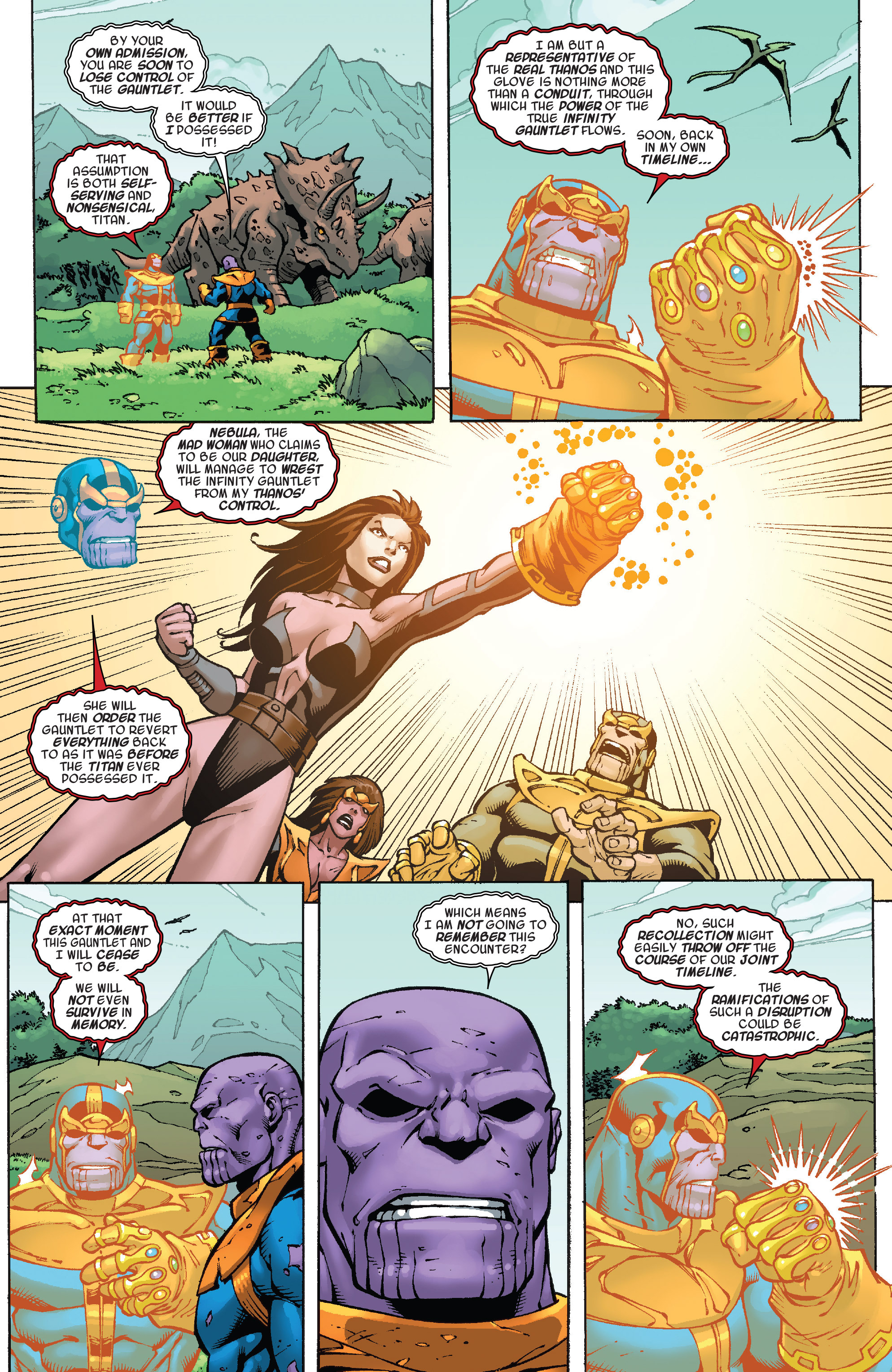 Read online Thanos Annual comic -  Issue # Annual - 19