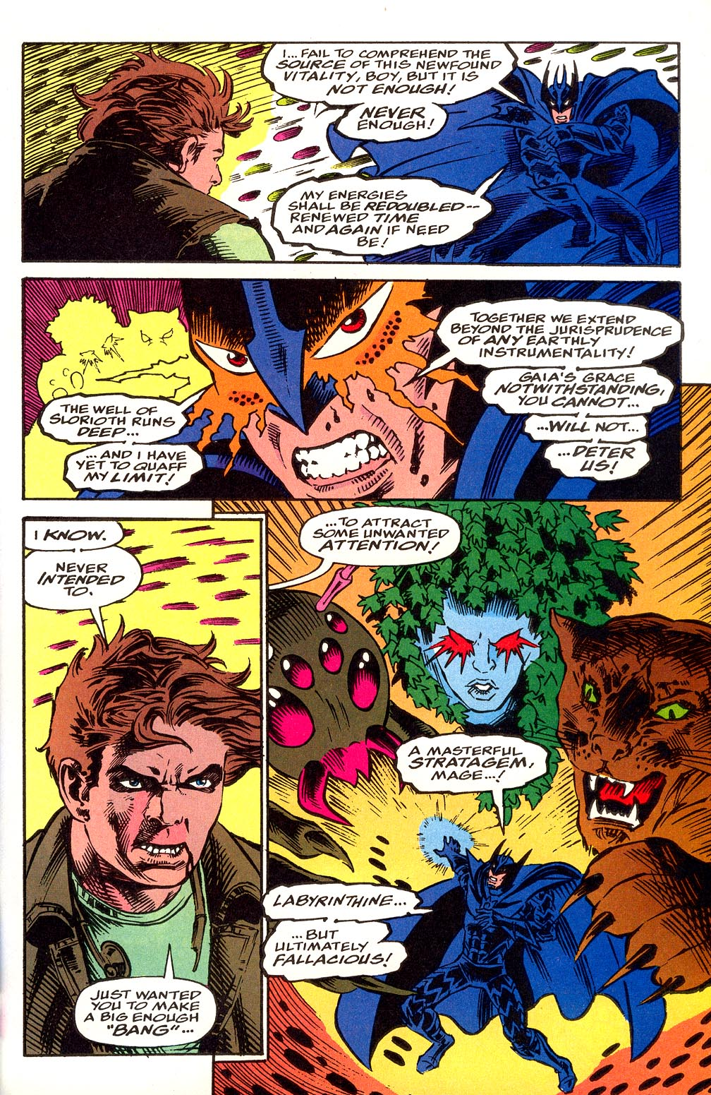 Read online Secret Defenders comic -  Issue #25 - 27