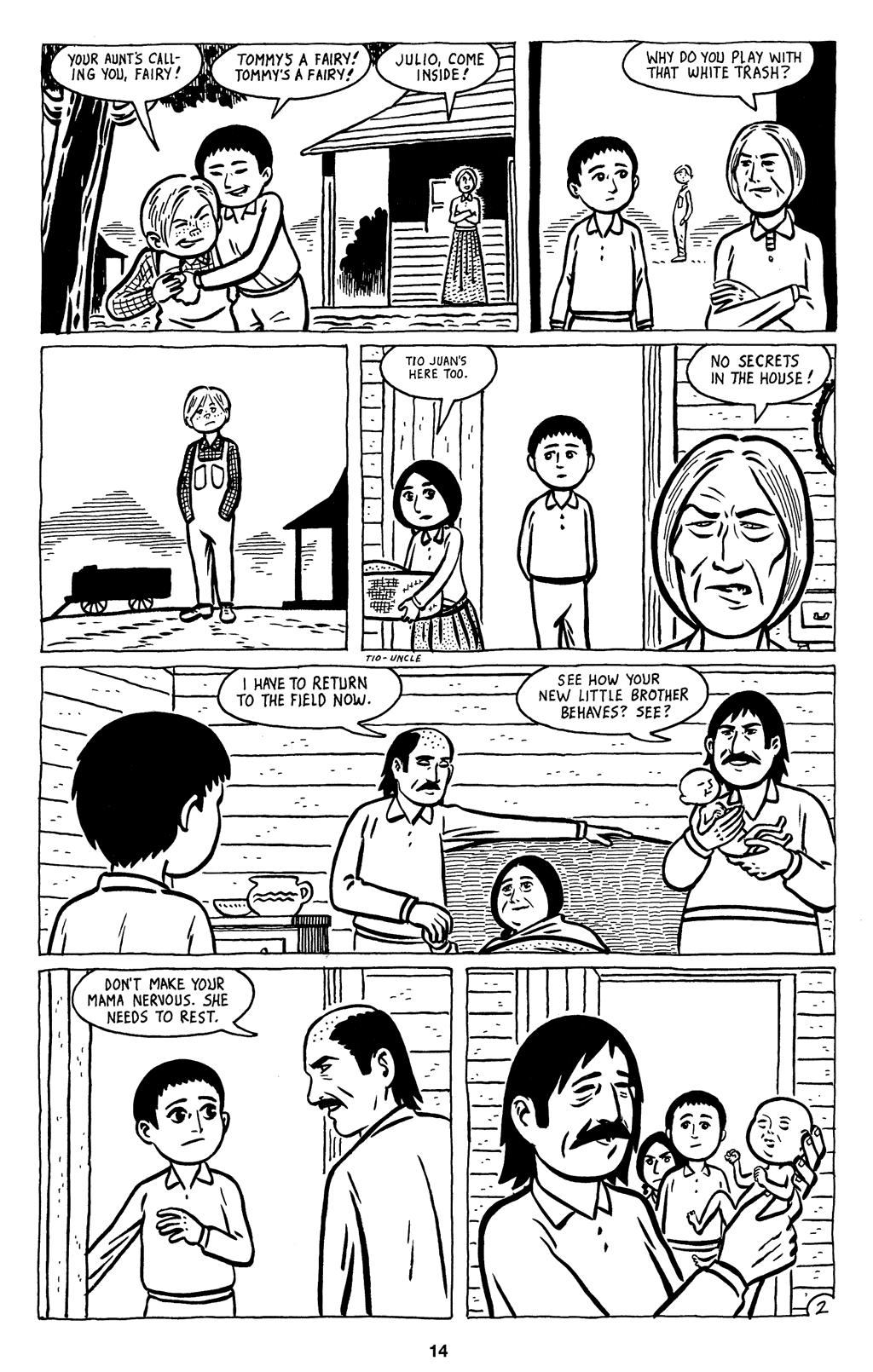Read online Love and Rockets (2001) comic -  Issue #3 - 16