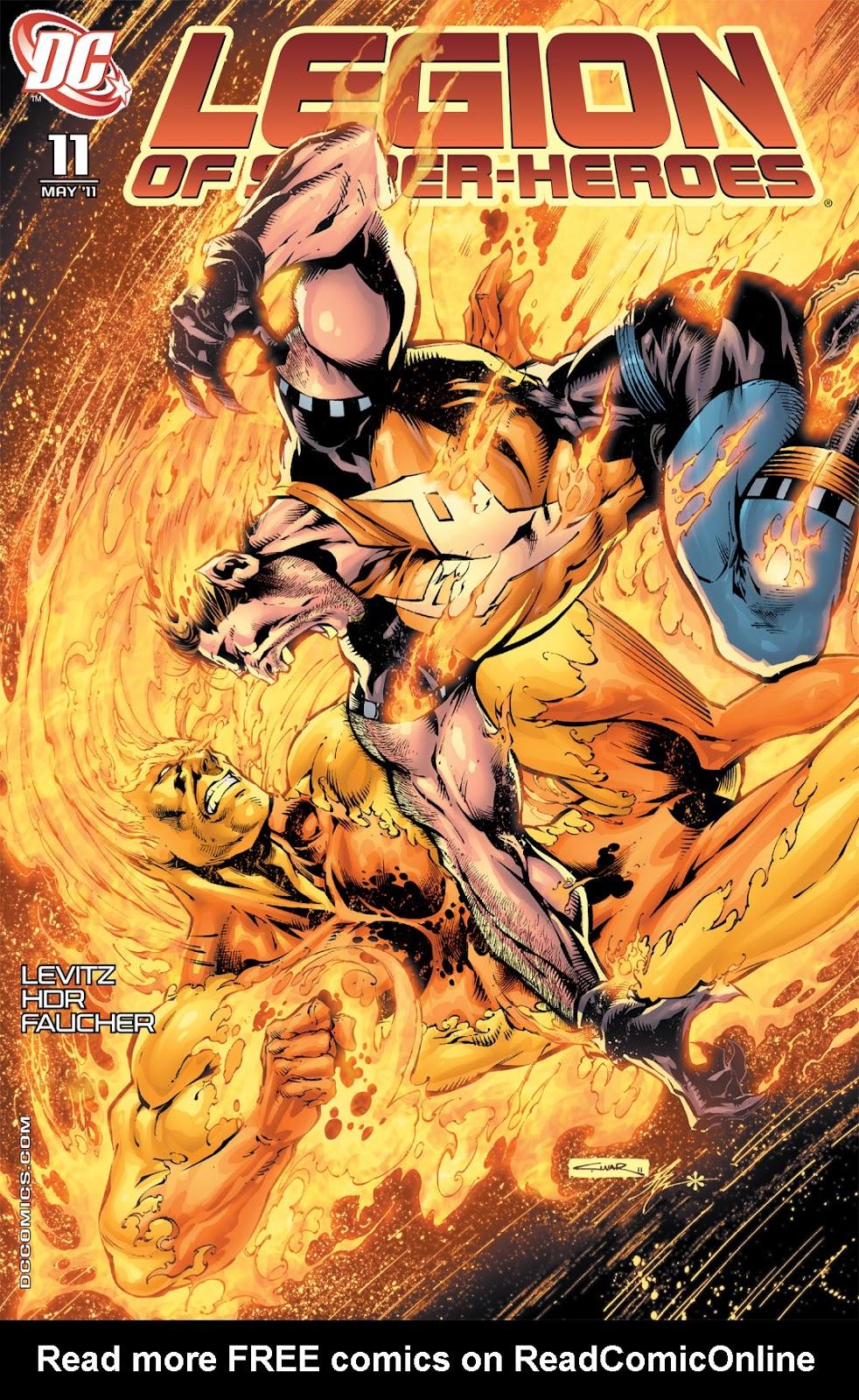 Legion of Super-Heroes (2010) Issue #11 #12 - English 1