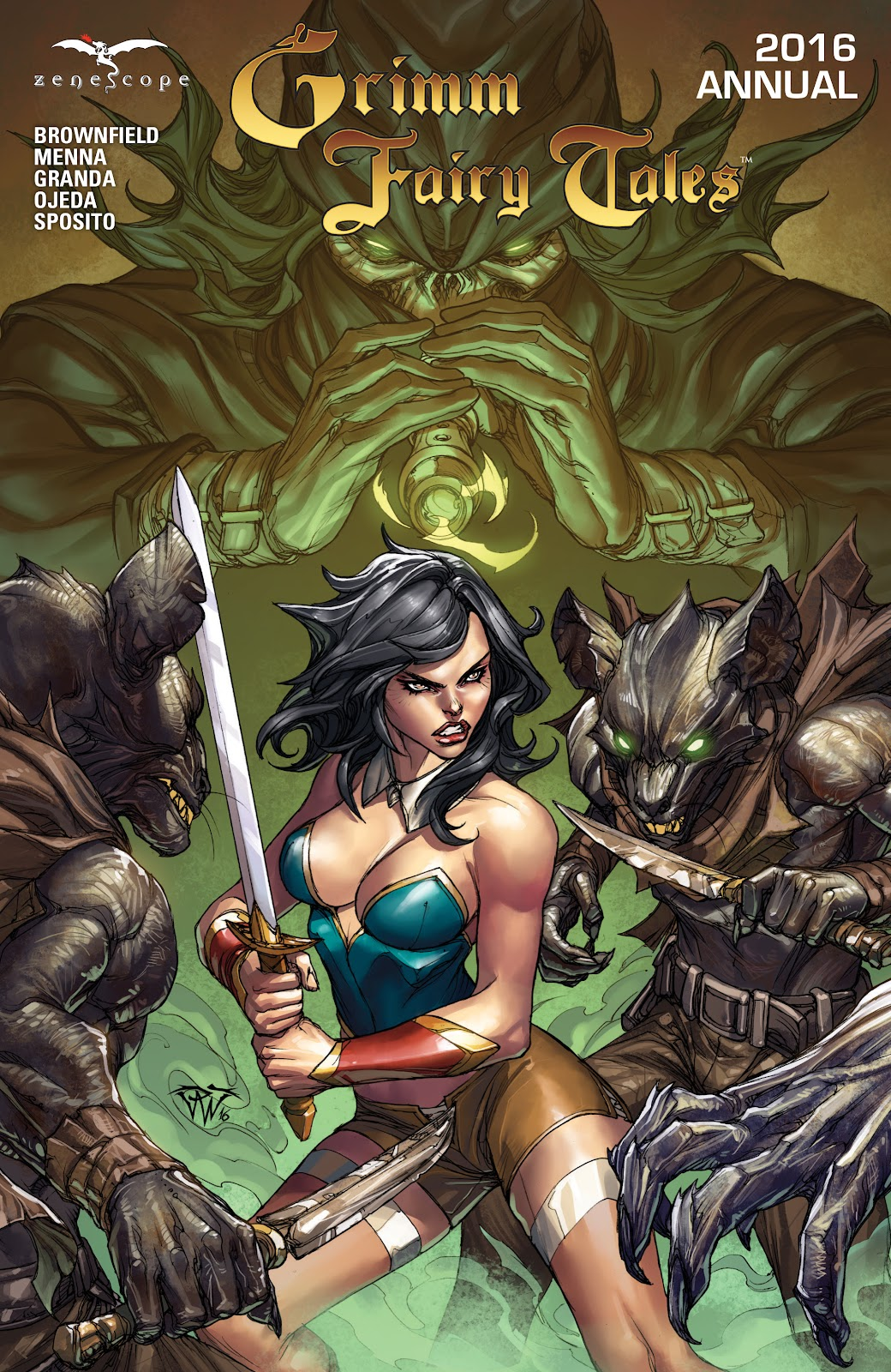 Grimm Fairy Tales (2005) Annual 1 #3 - English 1