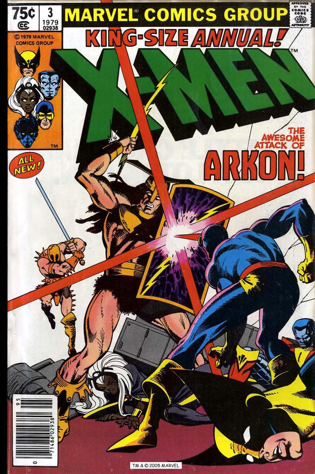 X-Men Annual 3 Page 1