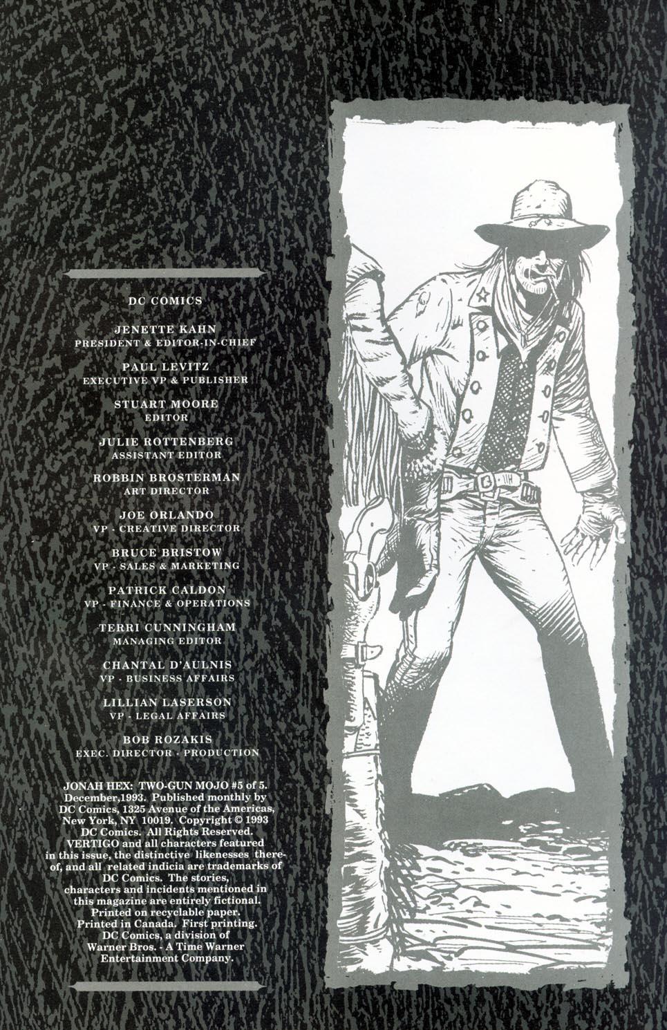Jonah Hex: Two-Gun Mojo Issue #5 #5 - English 35