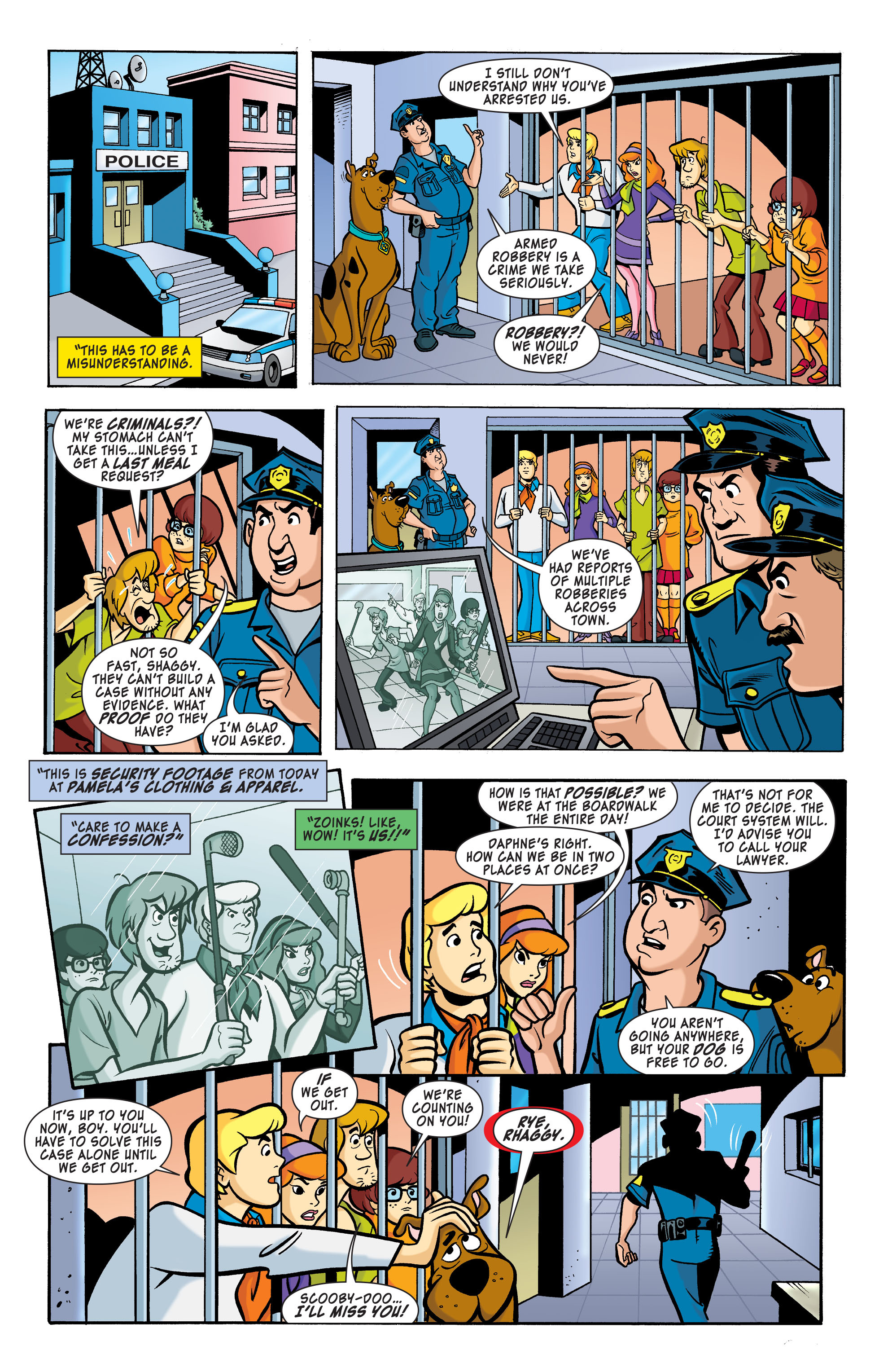Read online Scooby-Doo: Where Are You? comic -  Issue #64 - 3