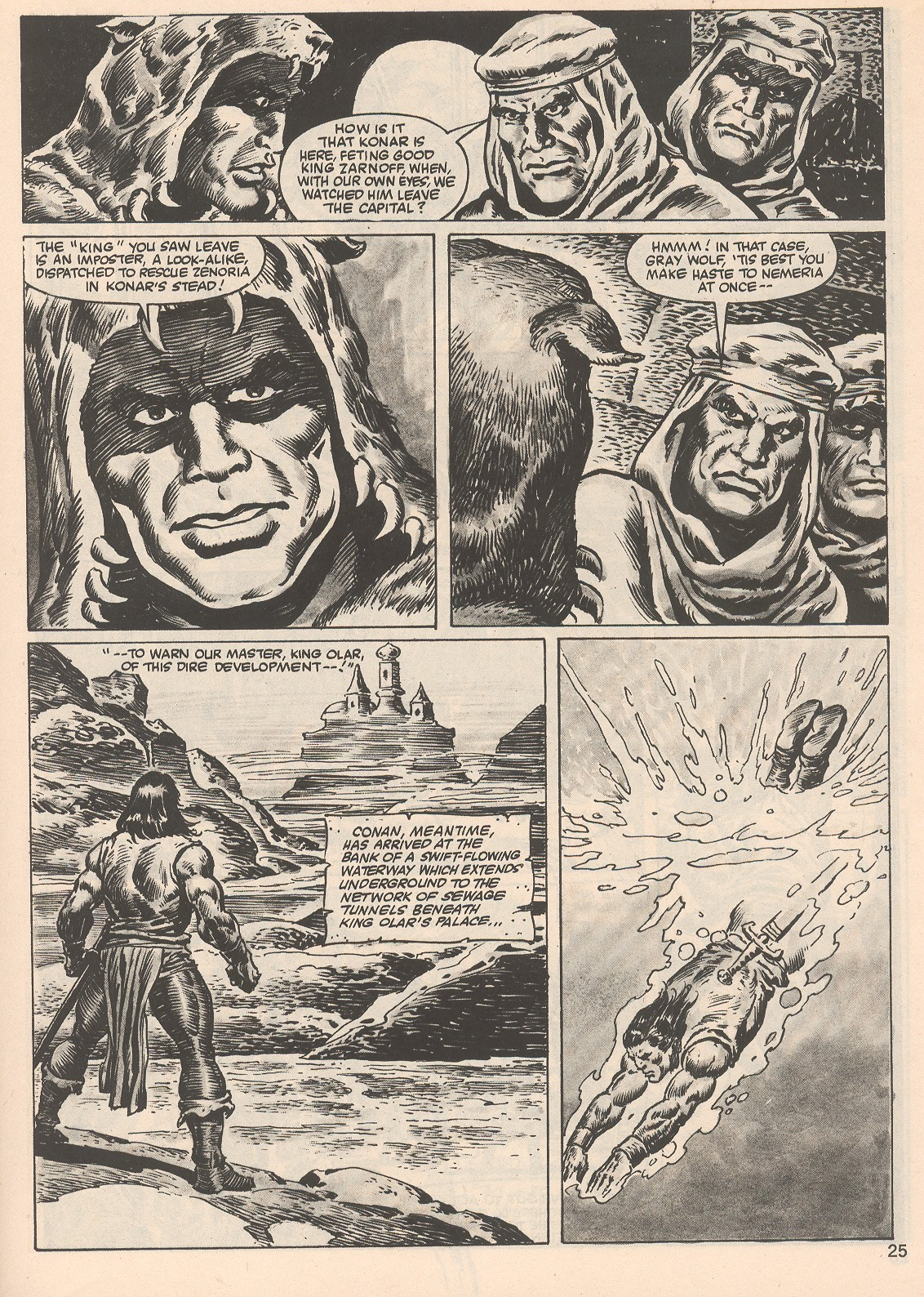 The Savage Sword Of Conan Issue #104 #105 - English 25