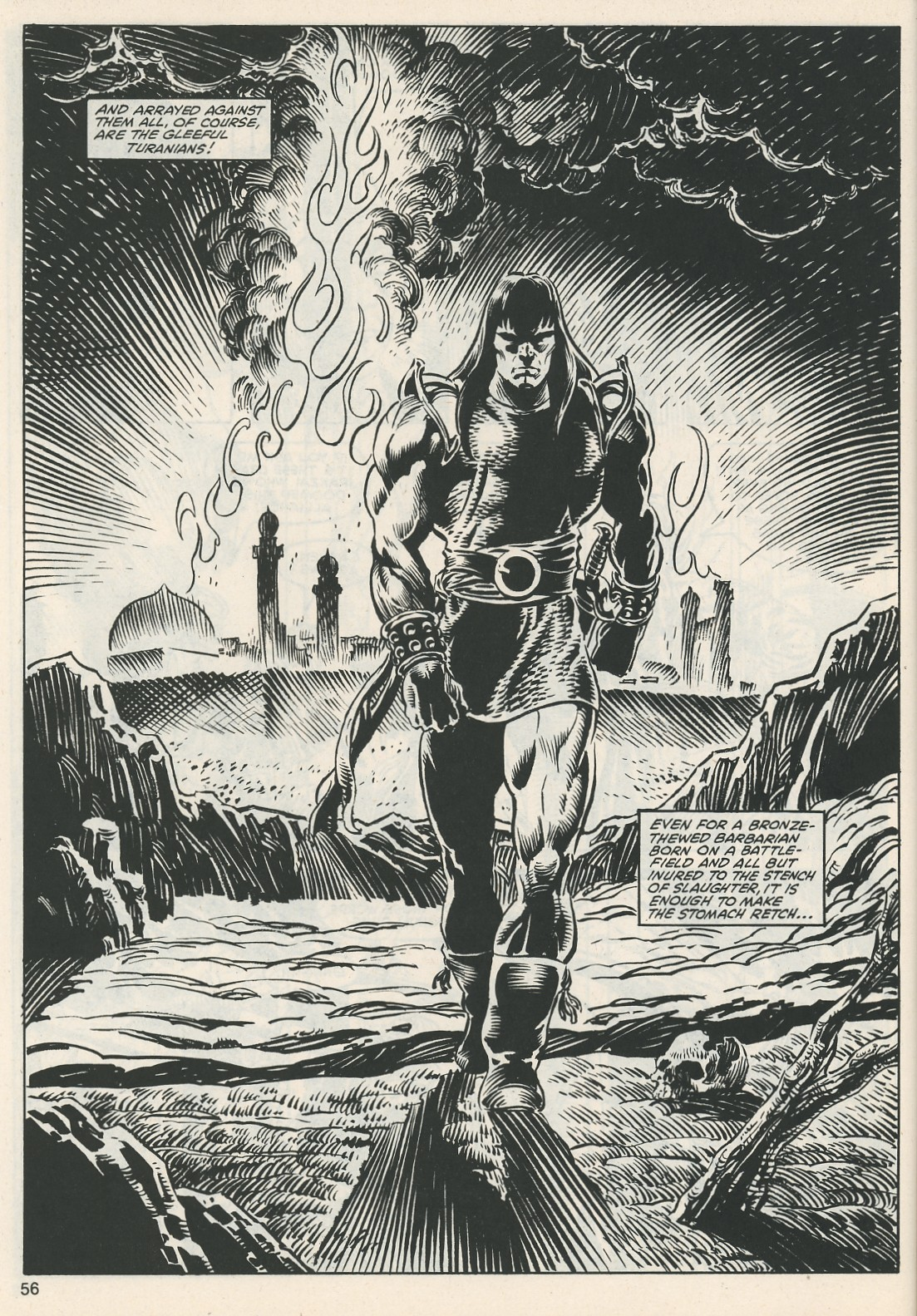 The Savage Sword Of Conan Issue #112 #113 - English 58