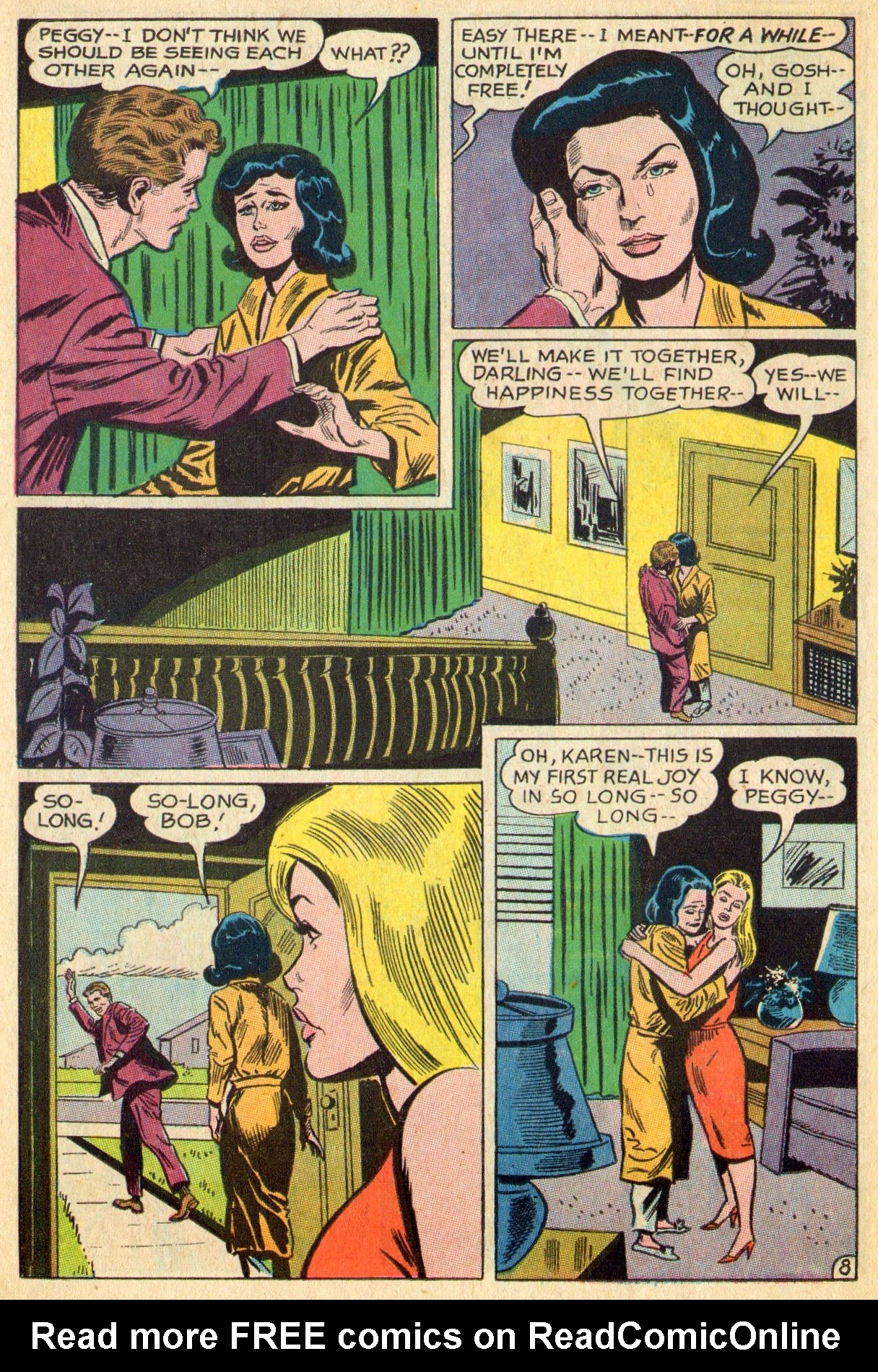Read online Secret Hearts comic -  Issue #119 - 26