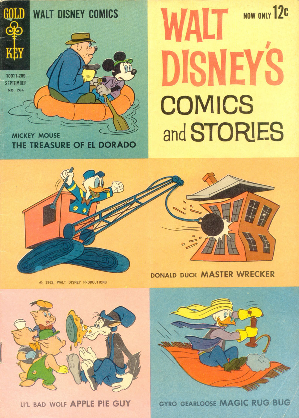 Walt Disneys Comics and Stories 264 Page 1