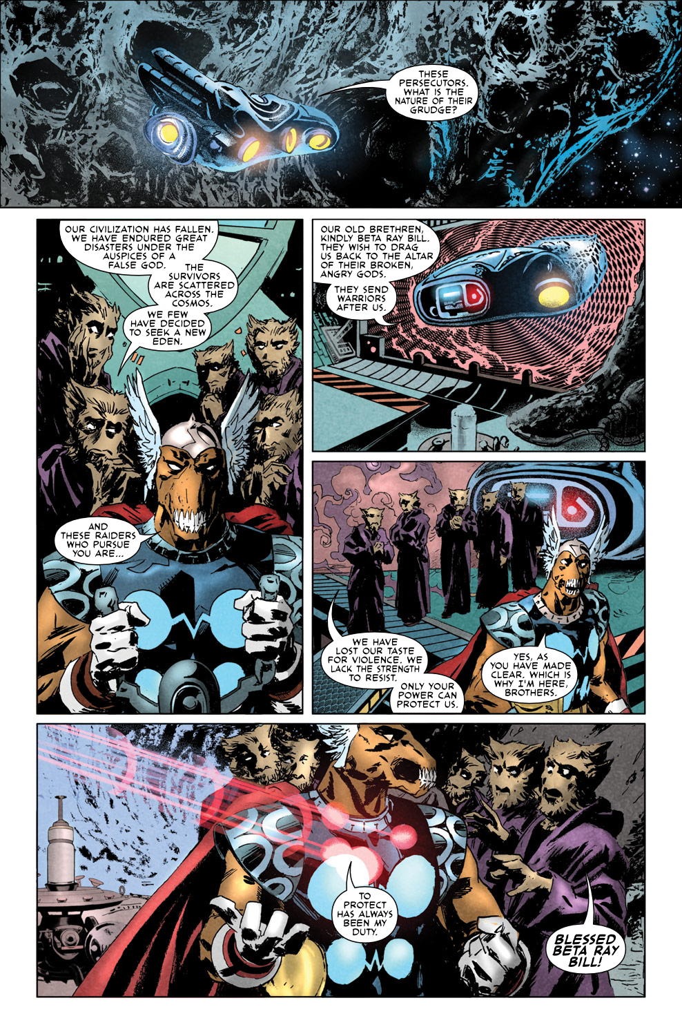 Read online Secret Invasion Aftermath: Beta Ray Bill - The Green of Eden comic -  Issue # Full - 9