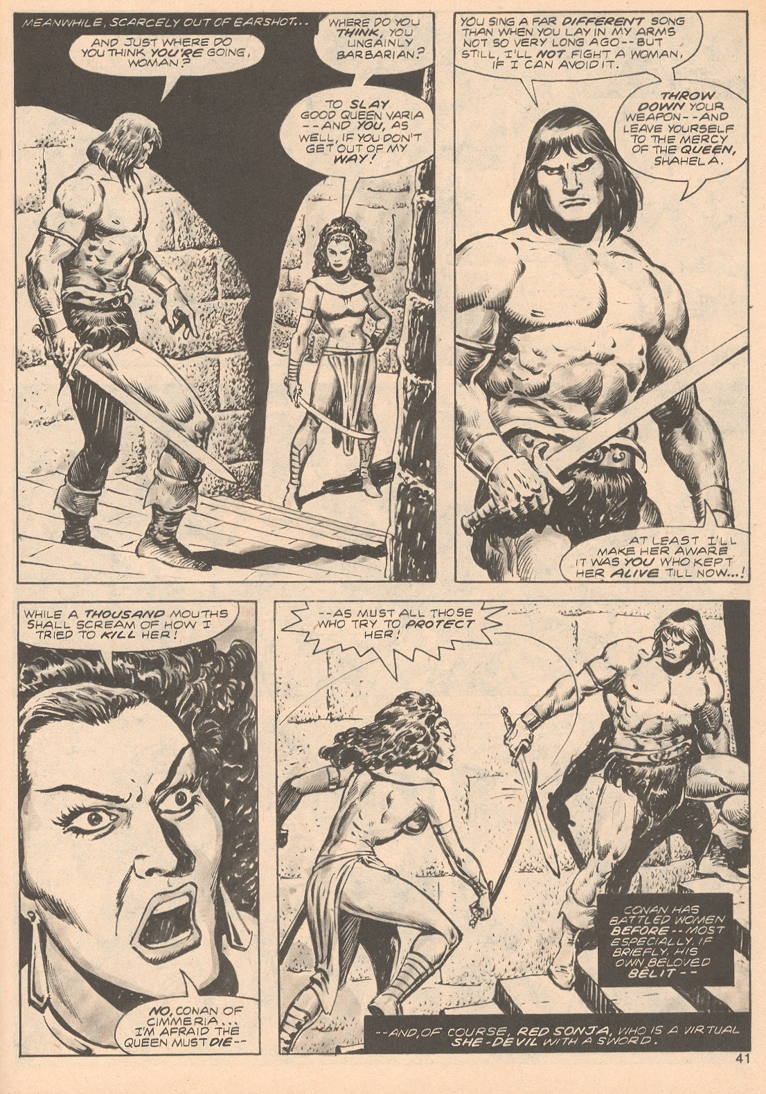 The Savage Sword Of Conan Issue #68 #69 - English 41