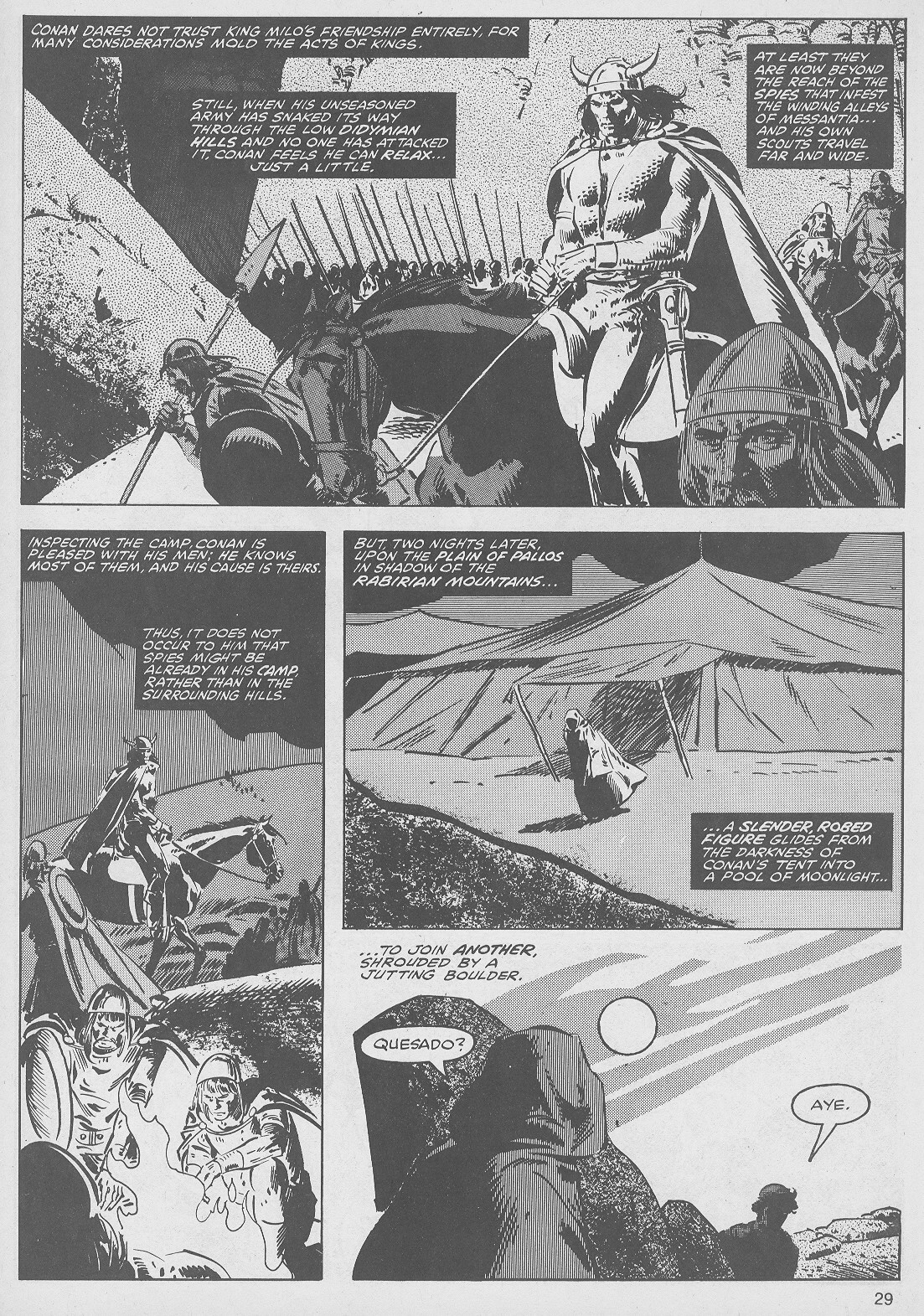 The Savage Sword Of Conan Issue #49 #50 - English 29