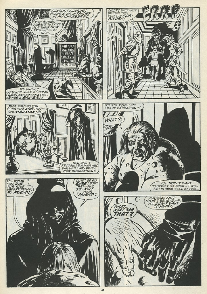 The Savage Sword Of Conan Issue #185 #186 - English 49