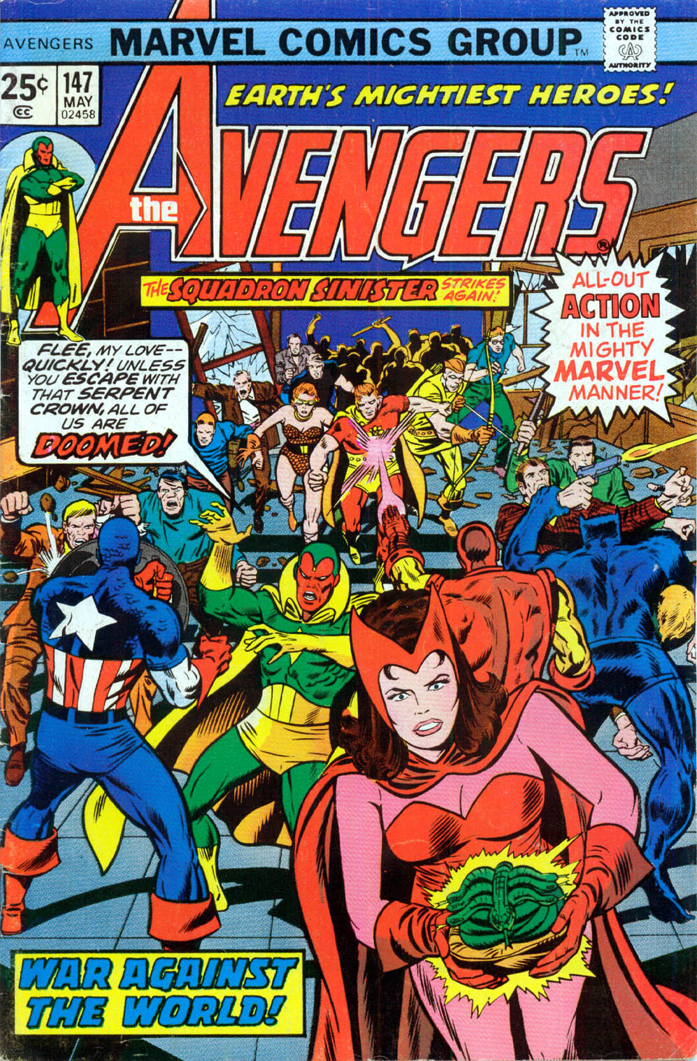 The Avengers (1963) 147 Page 1