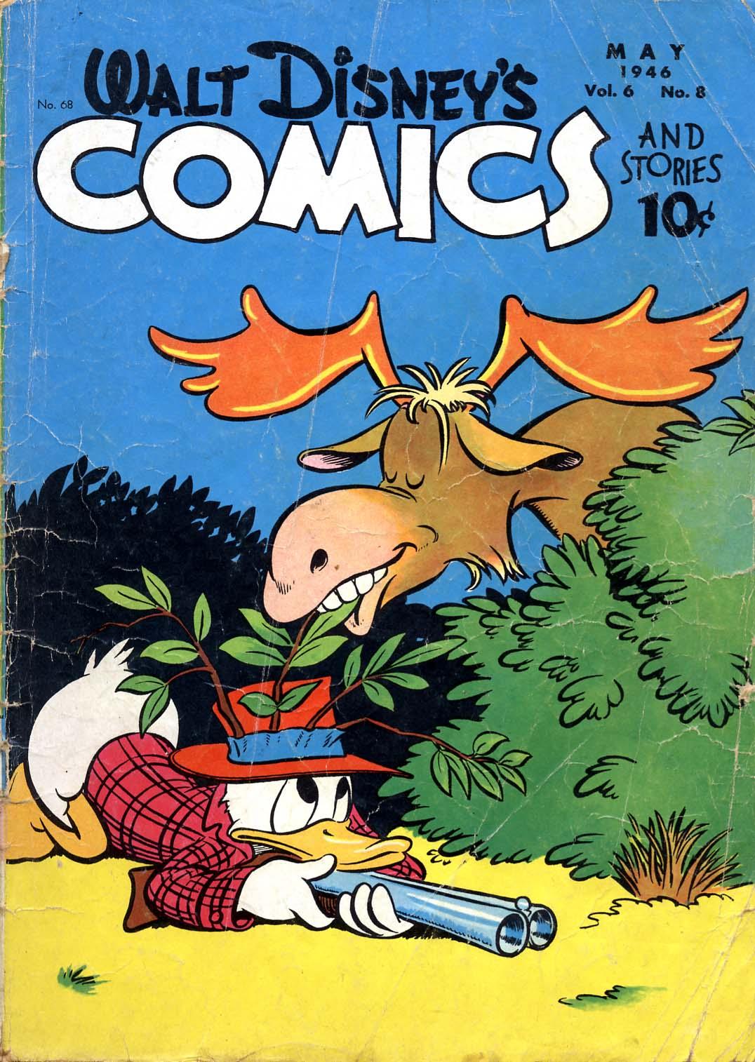 Walt Disneys Comics and Stories 68 Page 1