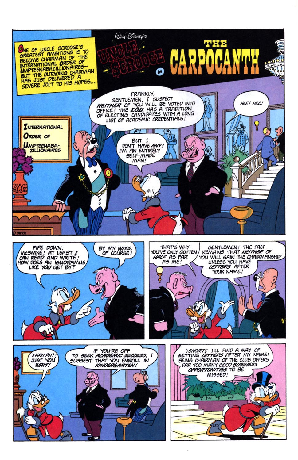Uncle Scrooge (1953) Issue #243 #243 - English 17