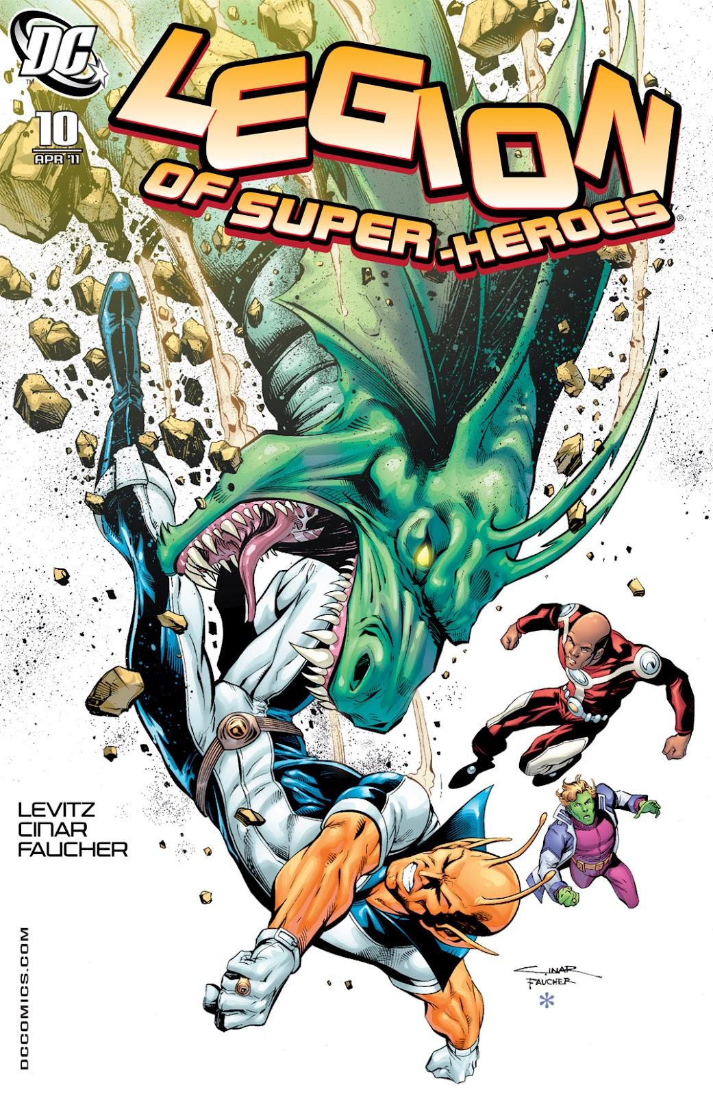 Legion of Super-Heroes (2010) Issue #10 #11 - English 1