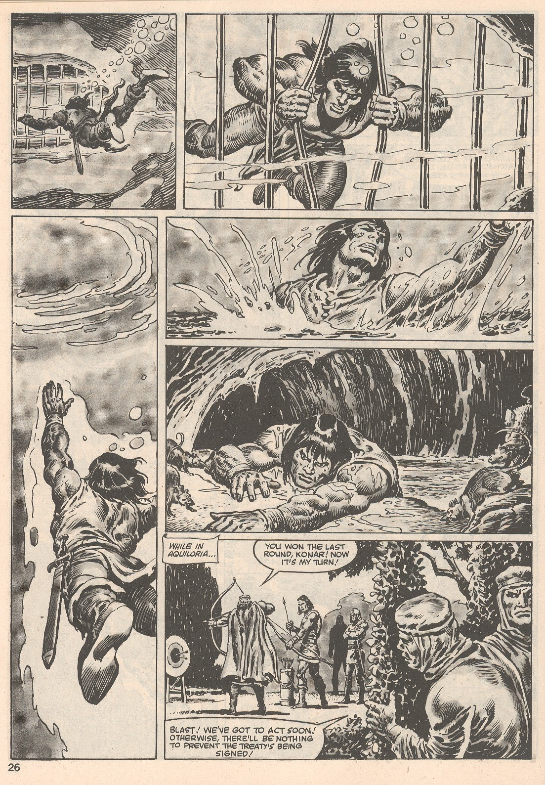 The Savage Sword Of Conan Issue #104 #105 - English 26