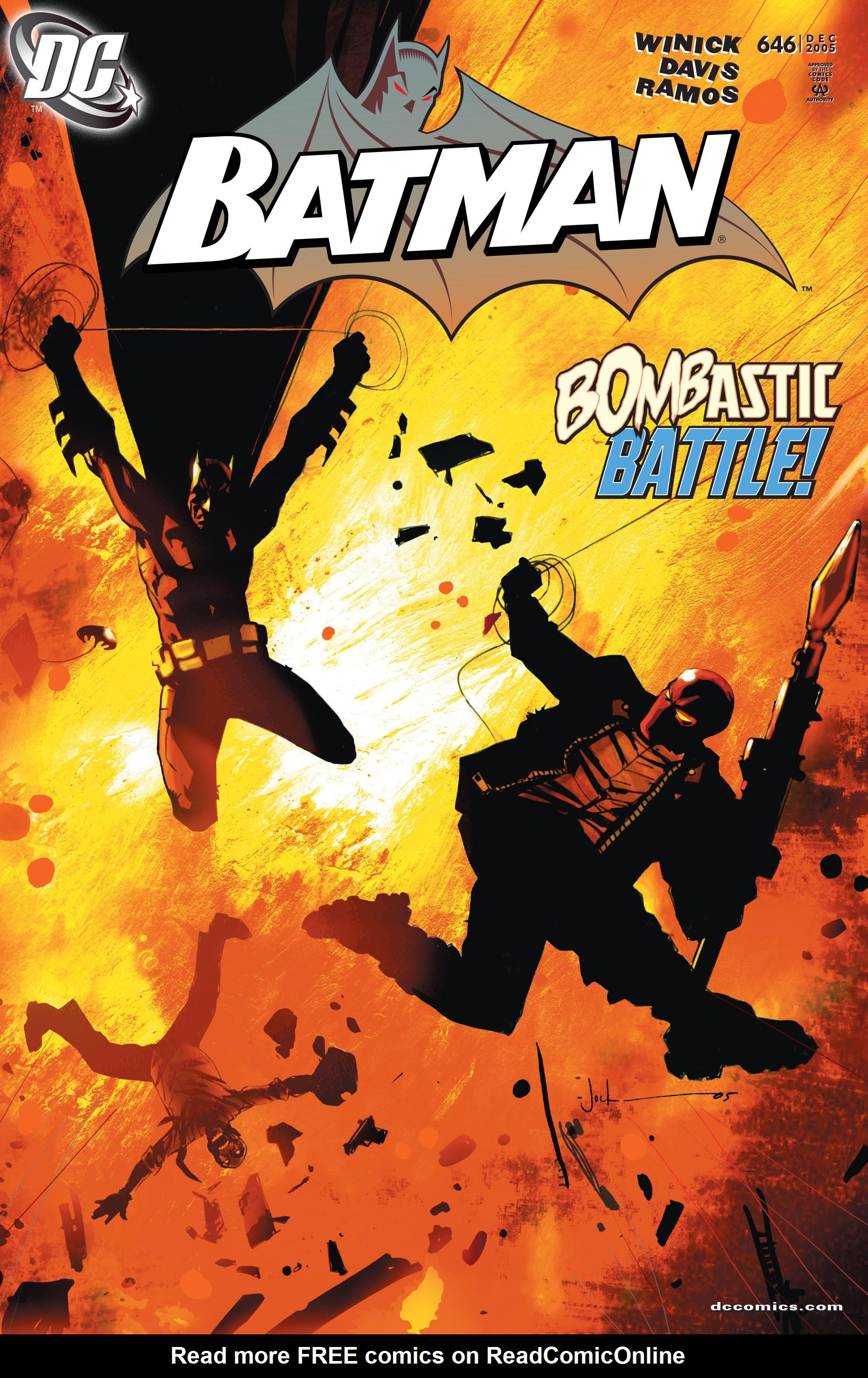 Batman (1940) 646 Page 1
