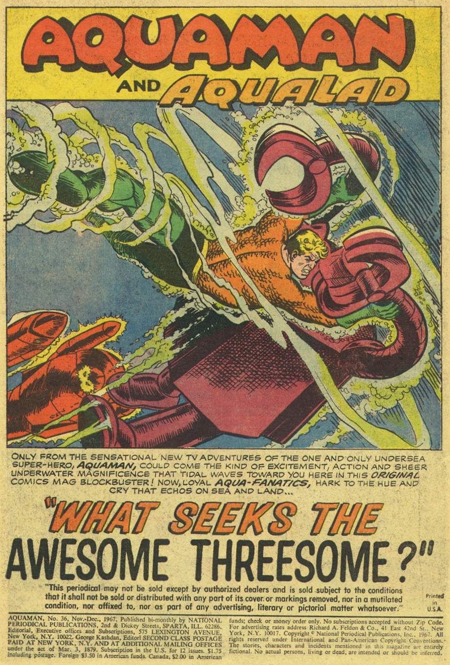 Aquaman (1962) Issue #36 #36 - English 3